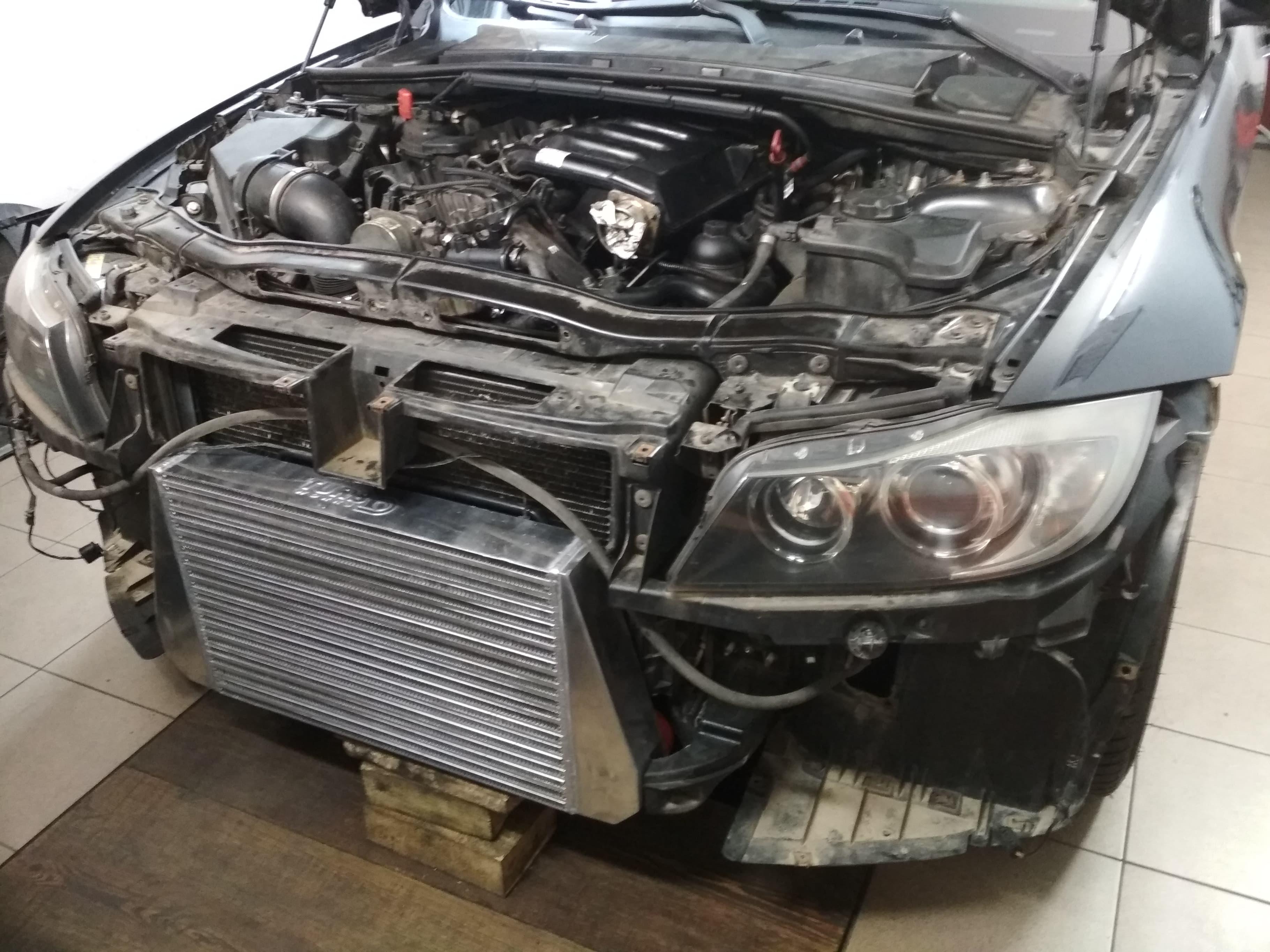 BMW E91 330XD 231KM >> 350+KM 800+Nm