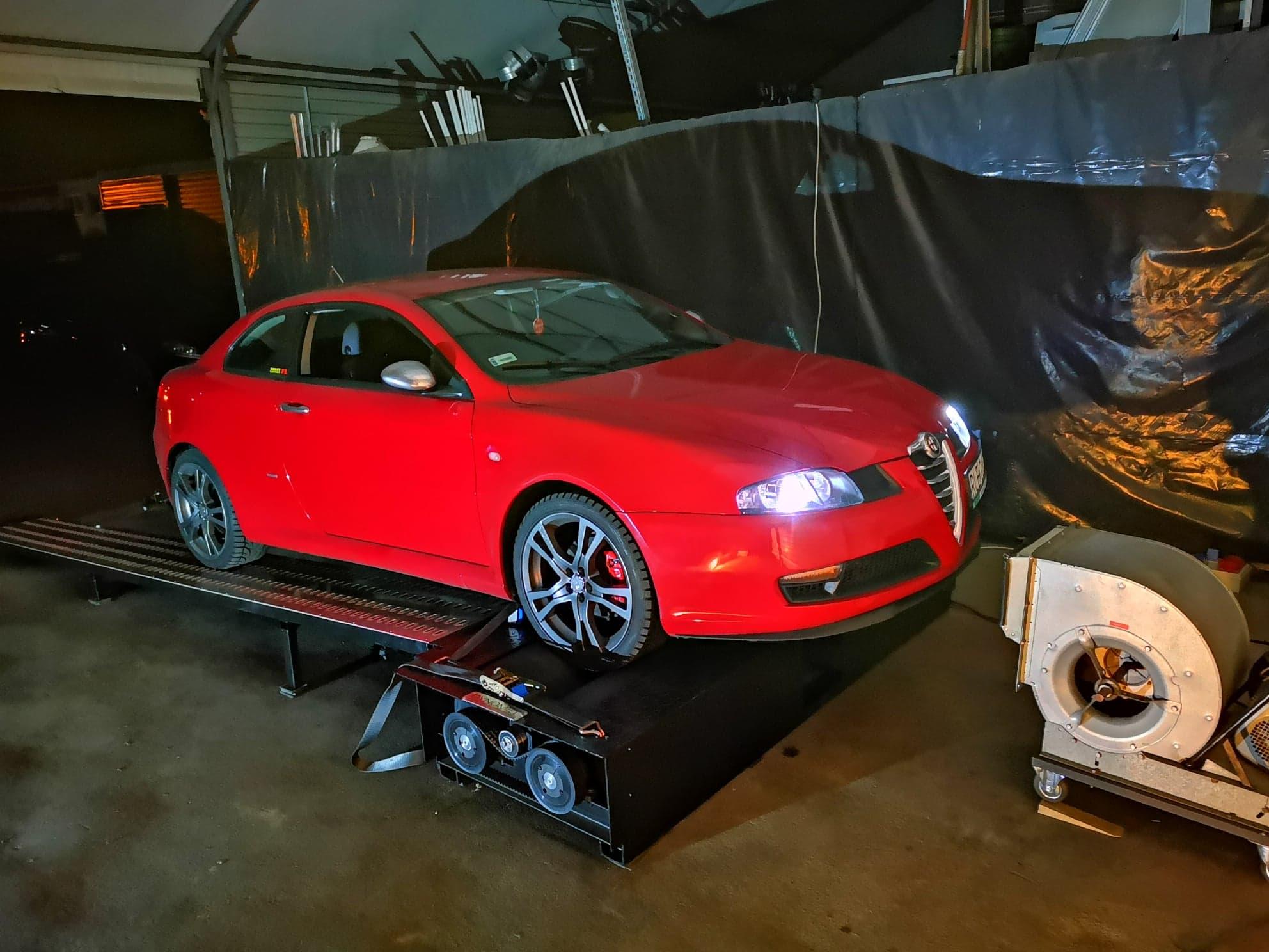 Alfa Romeo GT 1.9jtd 150KM >> 190KM439Nm