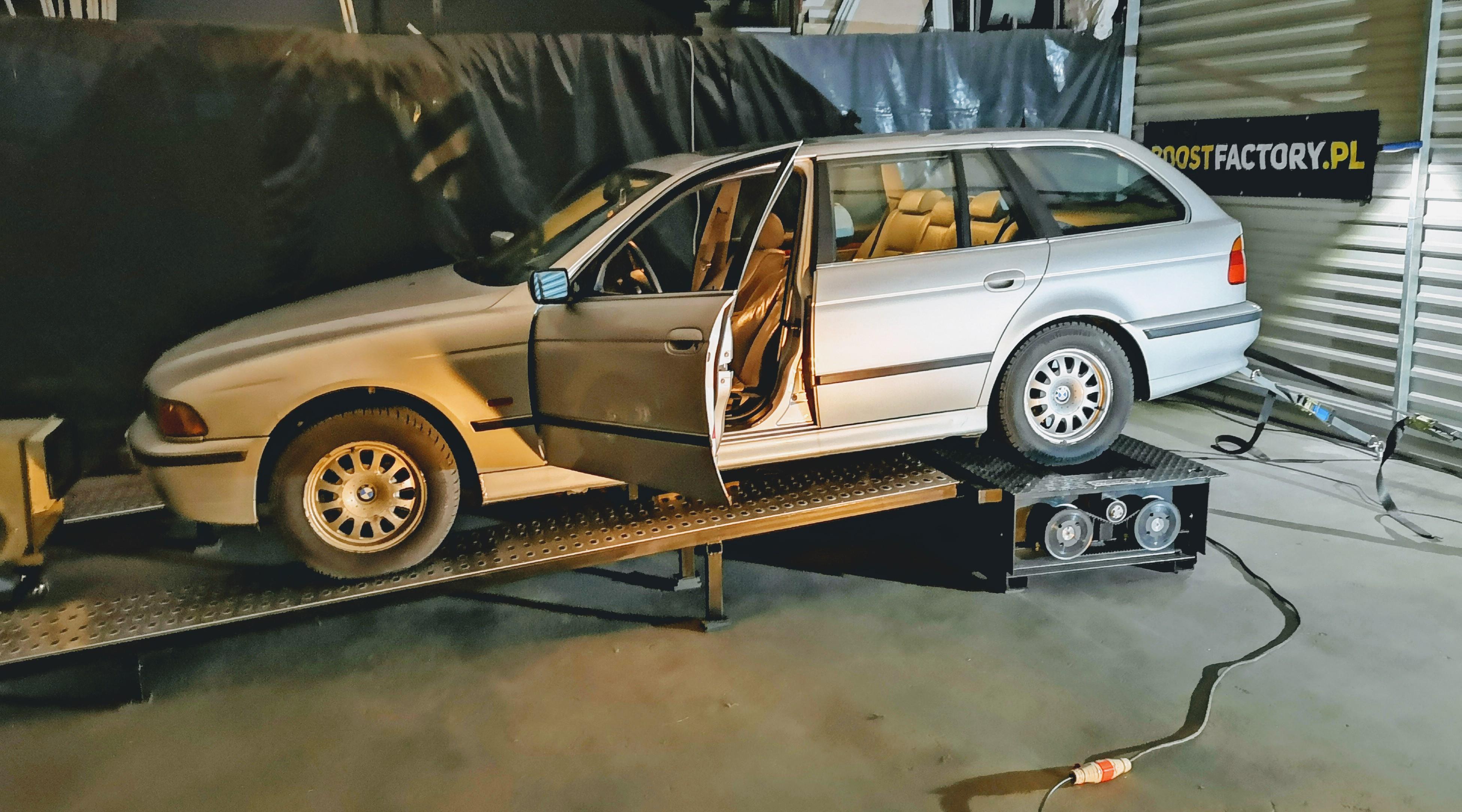 BMW E39 530D 184HP >> 243KM 535Nm