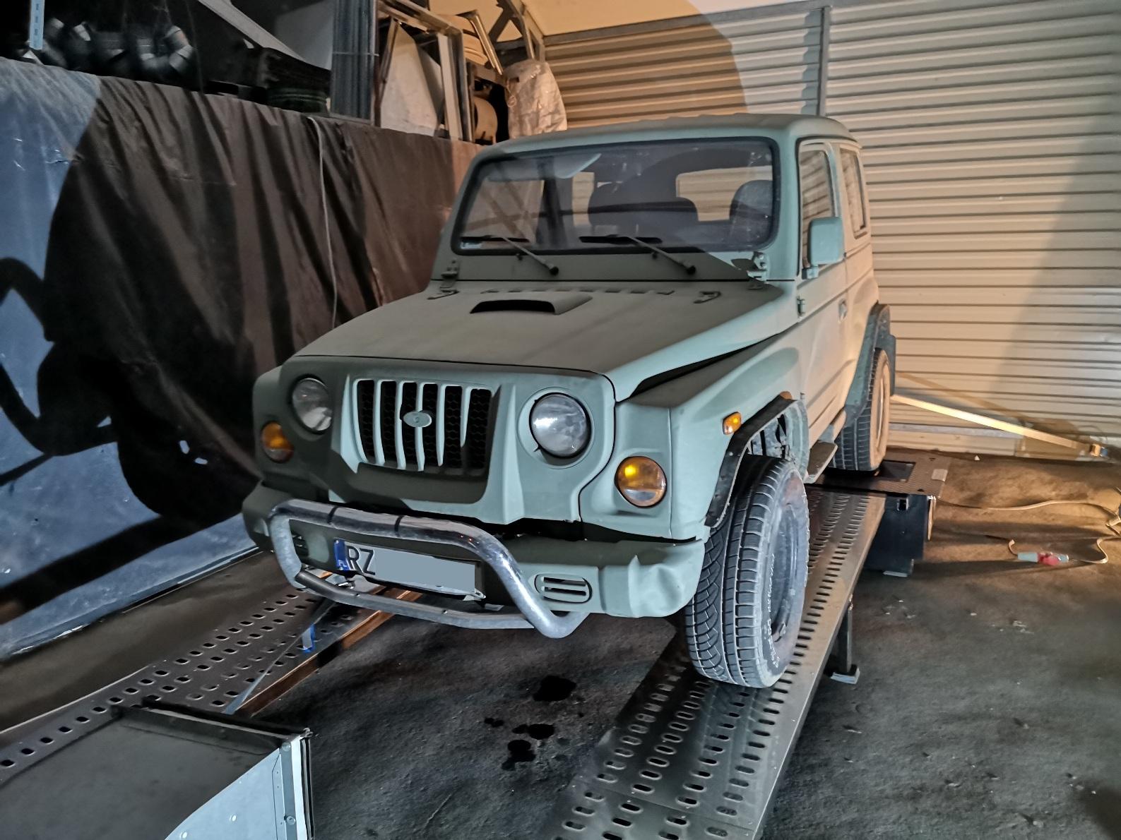Kia Retona 3.0D swap M57 diesel BMW