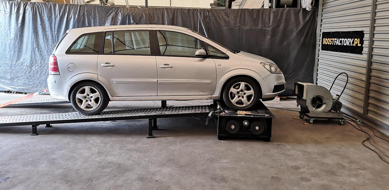 Opel Zafira 1.9CDTI 150KM >> 187KM 400Nm
