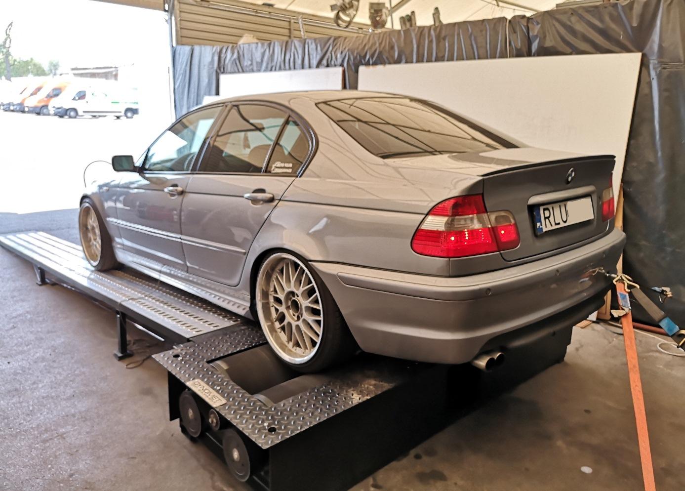 BMW E46 320d 150KM >> 188KM 405Nm