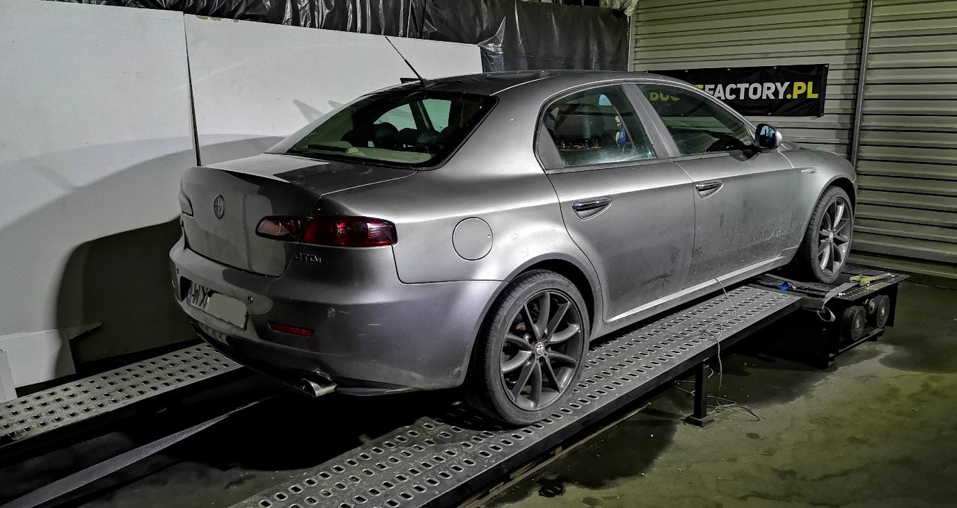 Alfa Romeo 159 1.9JTDm 136KM >> 185KM 388Nm