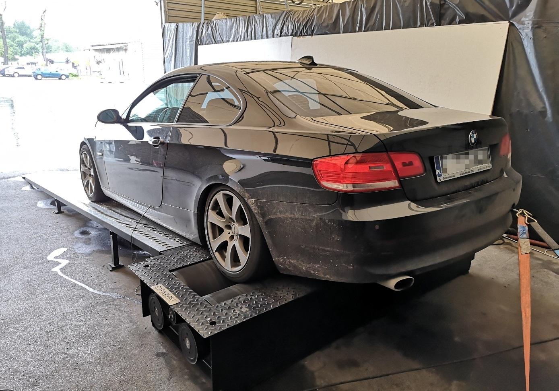 BMW E92 320d 177KM >> 215KM466Nm