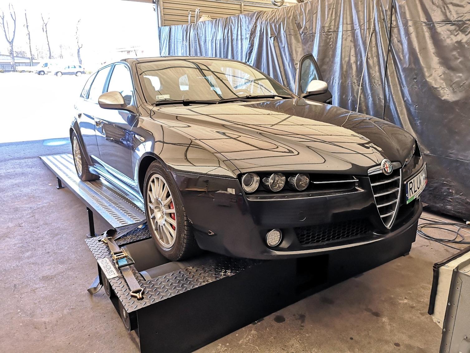 Alfa Romeo 159 1.9JTDm 150KM >> 193KM 431Nm