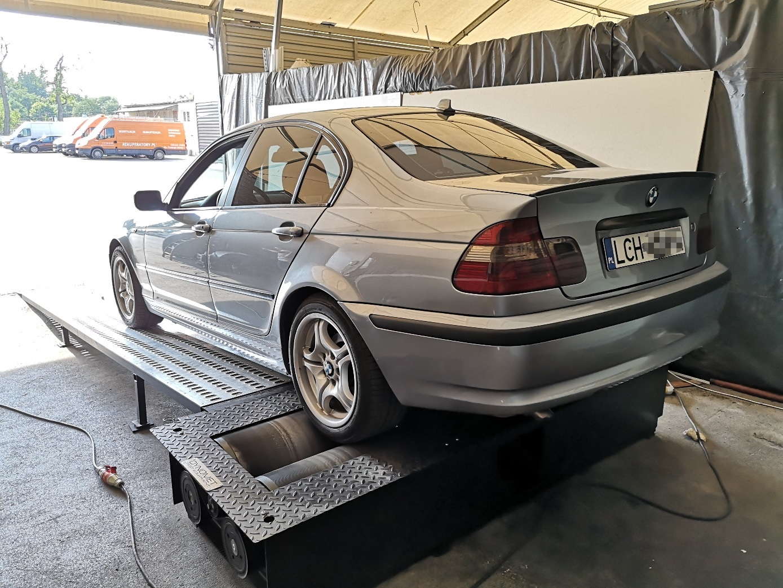 BMW E46 318D 116KM >> 157KM 347Nm