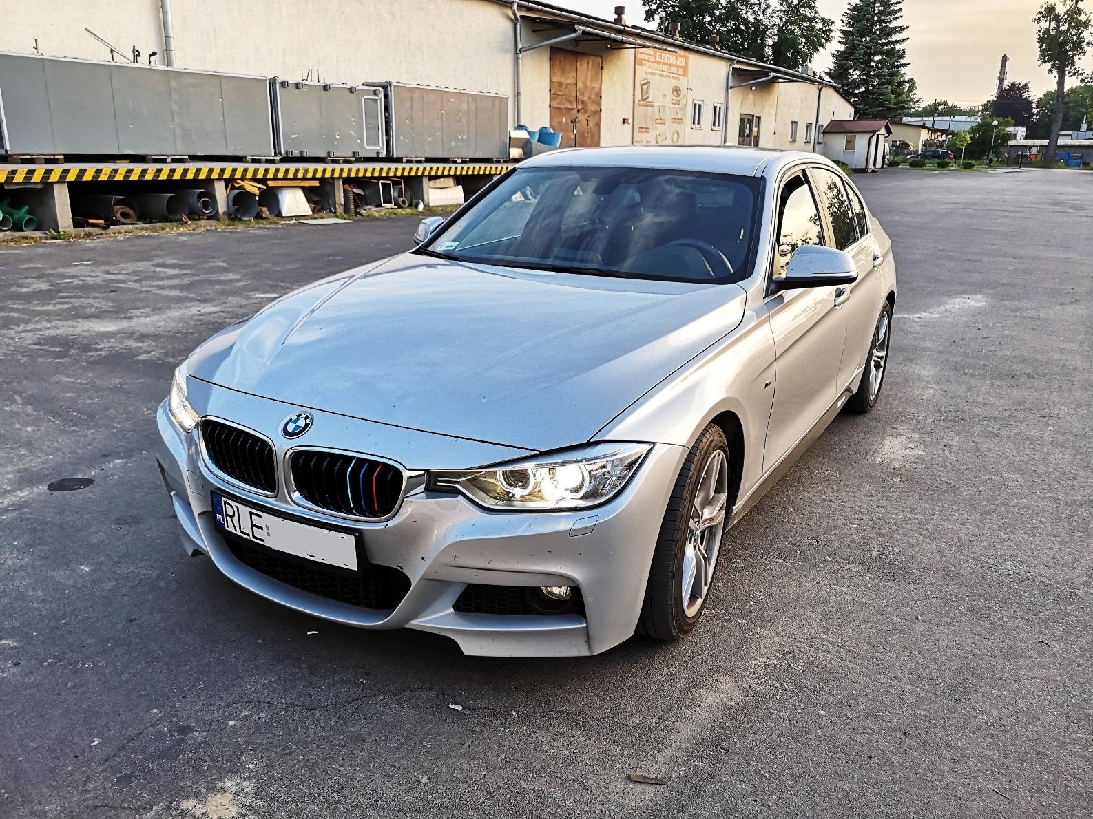 BMW F30 316d 116KM >> 188KM 403Nm