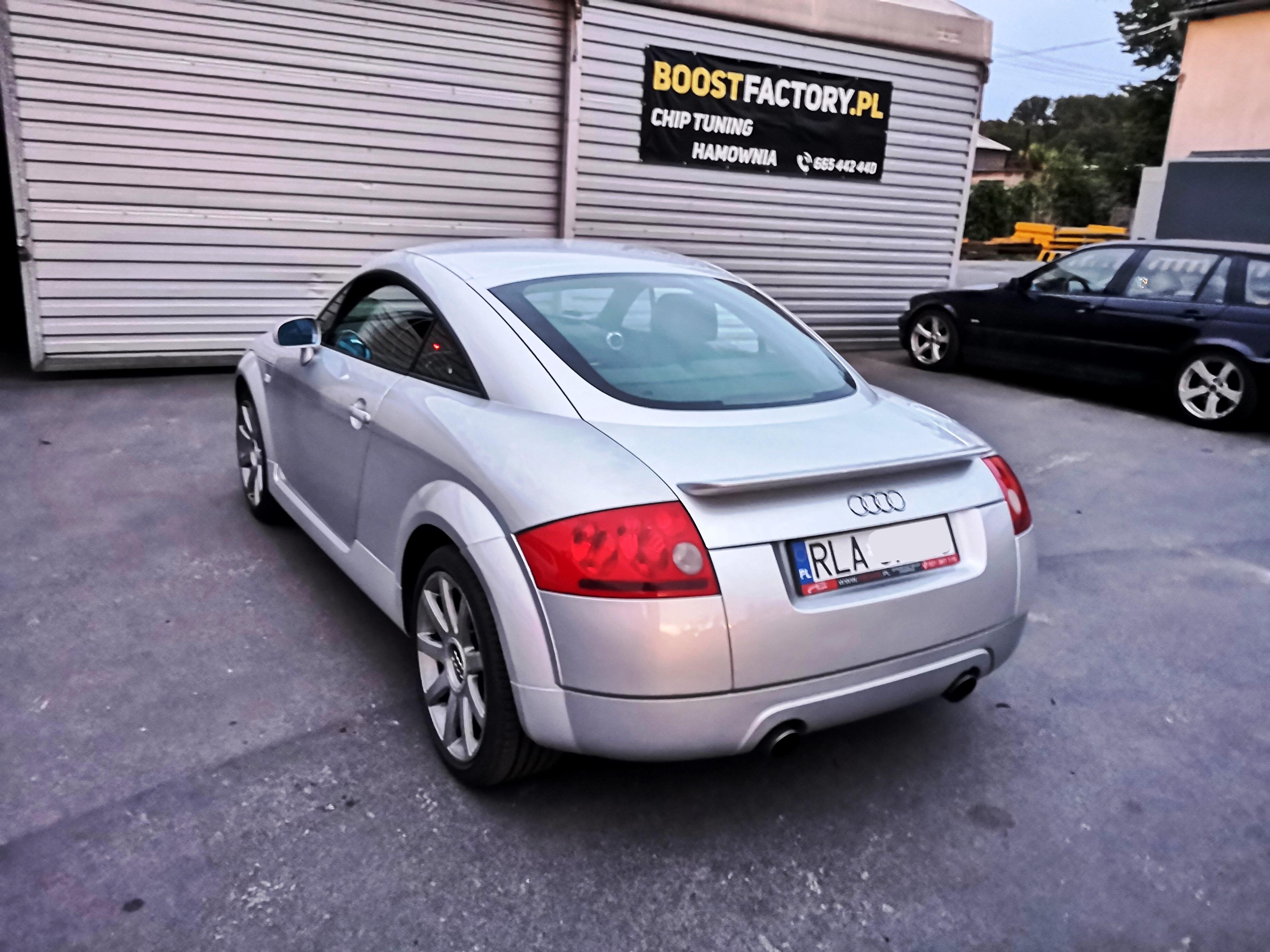 Audi TT Quattro 1.8T APX 225KM >> 253KM 387Nm