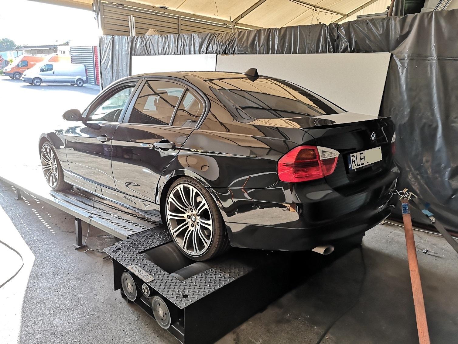 BMW E90 320D 163KM >> 202KM 445Nm