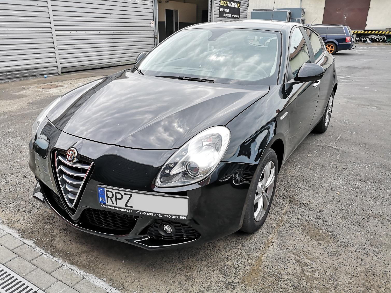 Alfa Giulietta 1.4TJet 105KM >> 192KM 277Nm