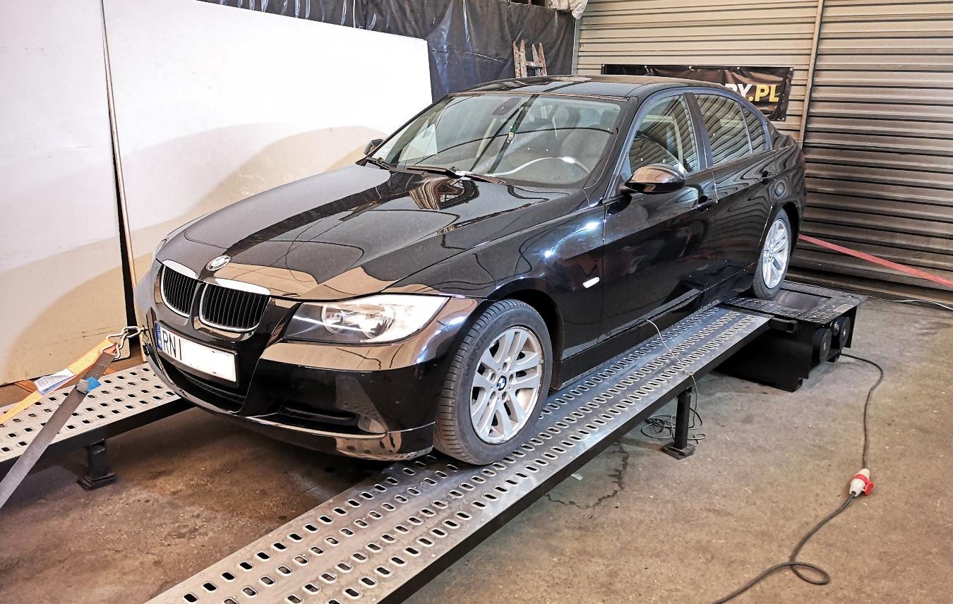 BMW E90 320D 163KM >> 200KM 452Nm