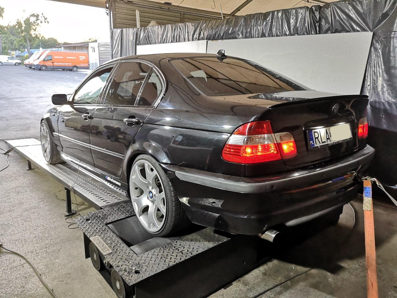 BMW E46 320D 150KM >> 208KM 438Nm