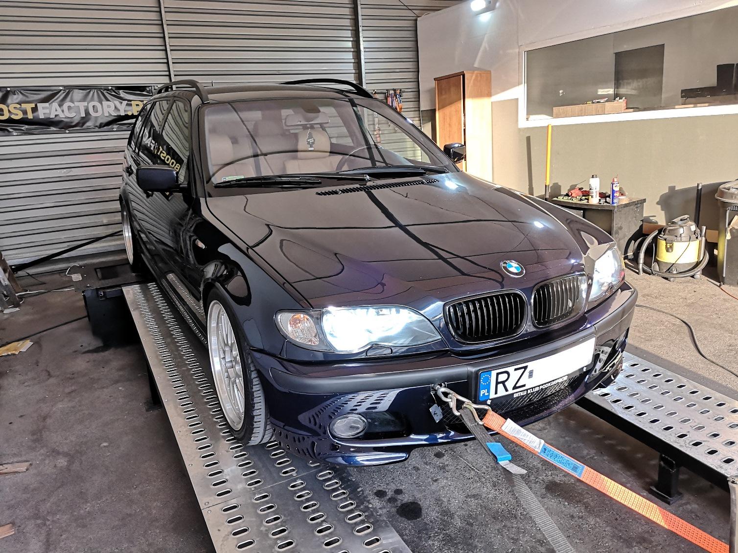 BMW E46 320D 150KM >> 193KM 419Nm