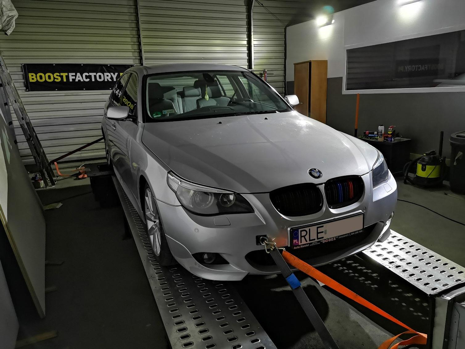 BMW E60 525D 177KM >> 232KM 482Nm