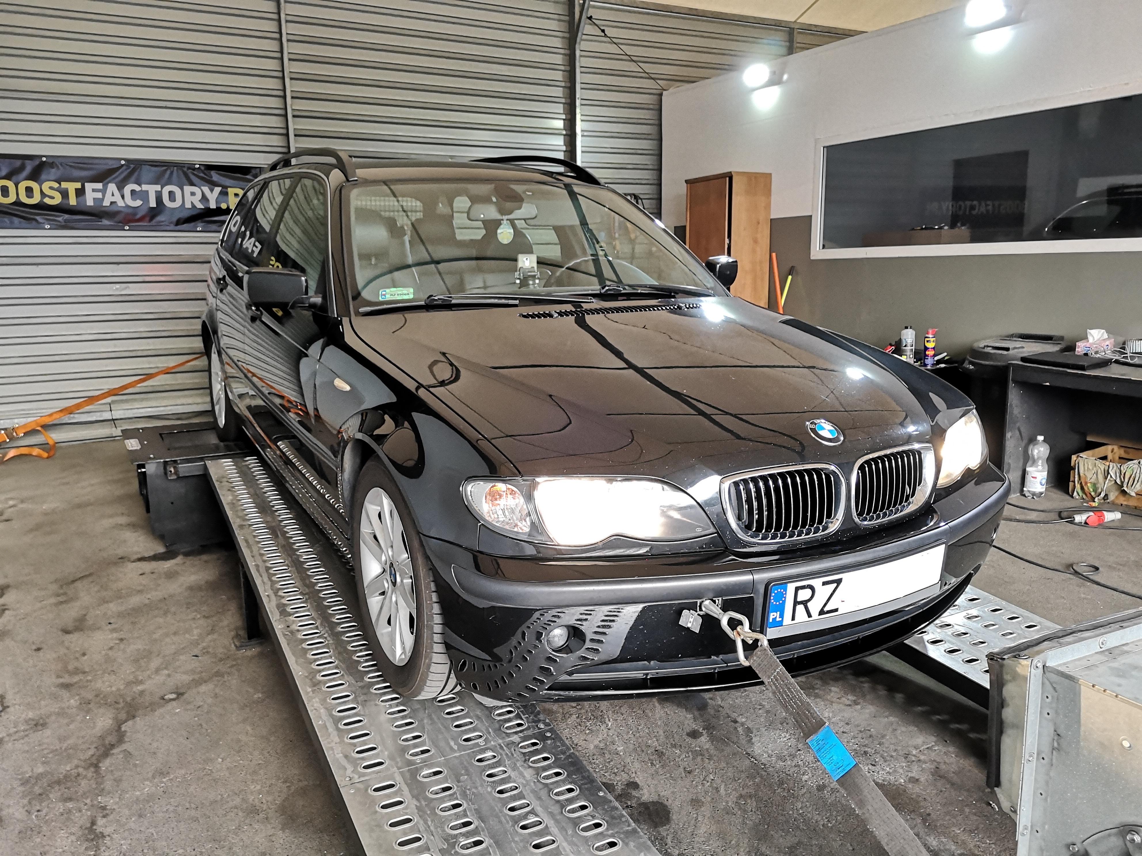 BMW E46 320D 150KM >> 196KM 434Nm
