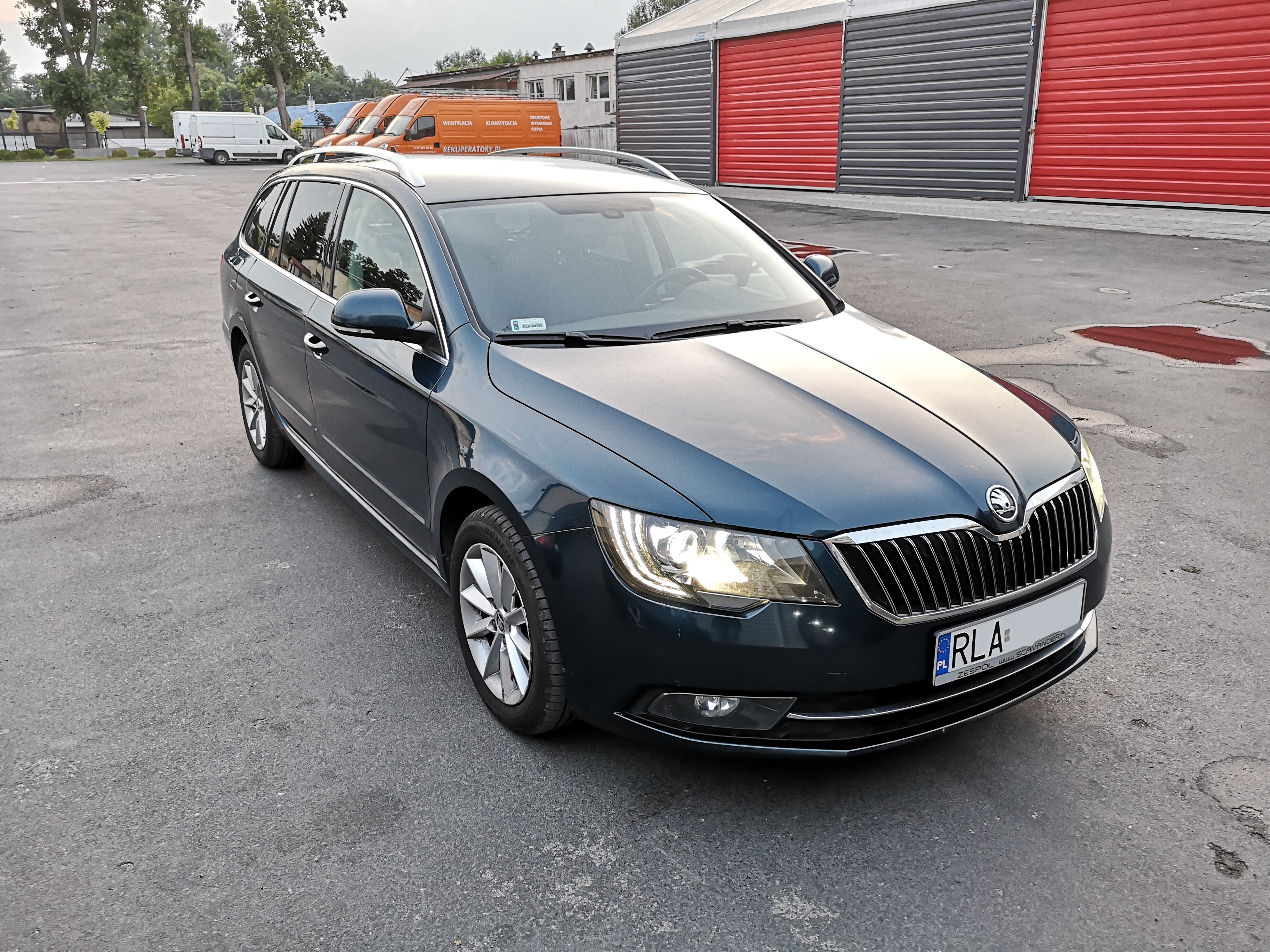 Skoda Superb 2.0TDI 140KM CFFB >> 193KM 430Nm