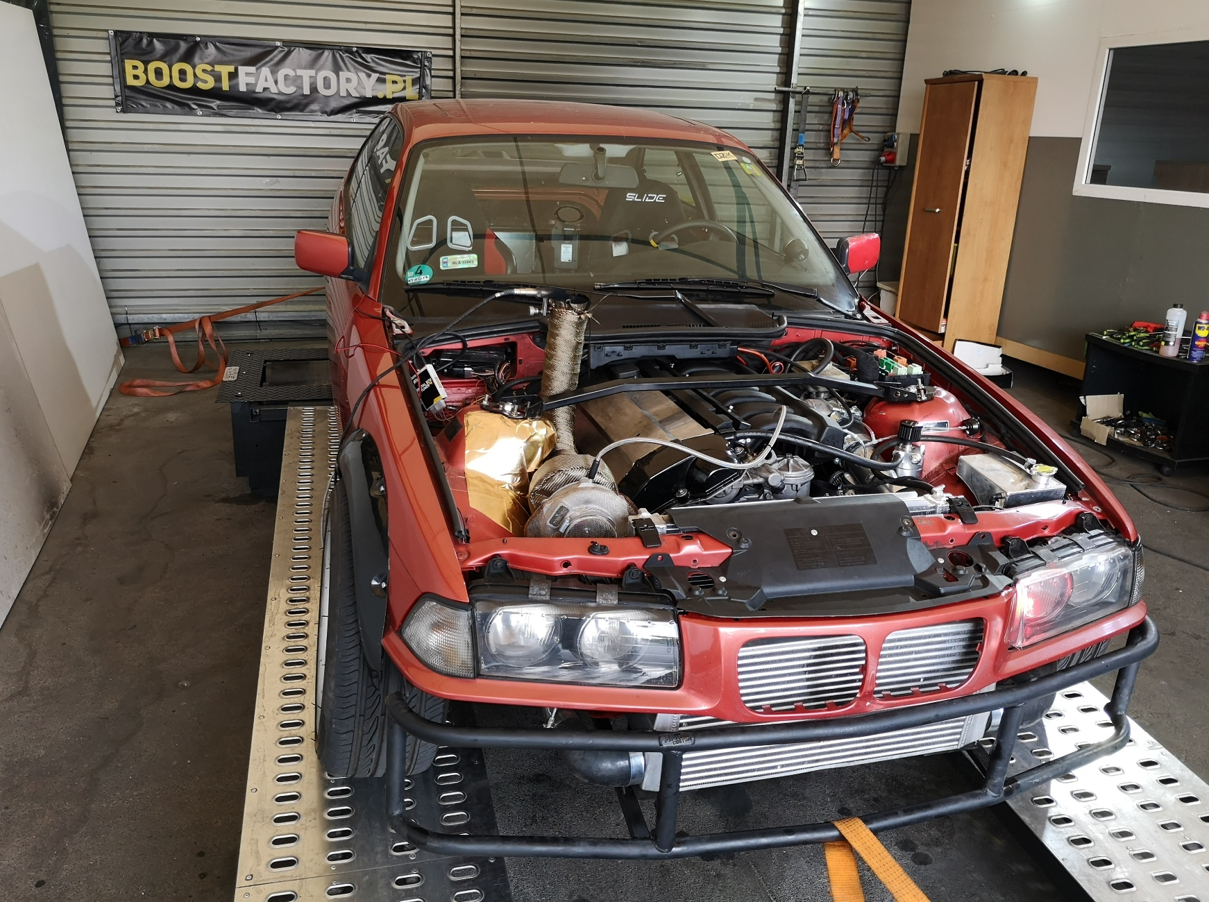 BMW E36 M50B29 Turbo 410KM 542Nm