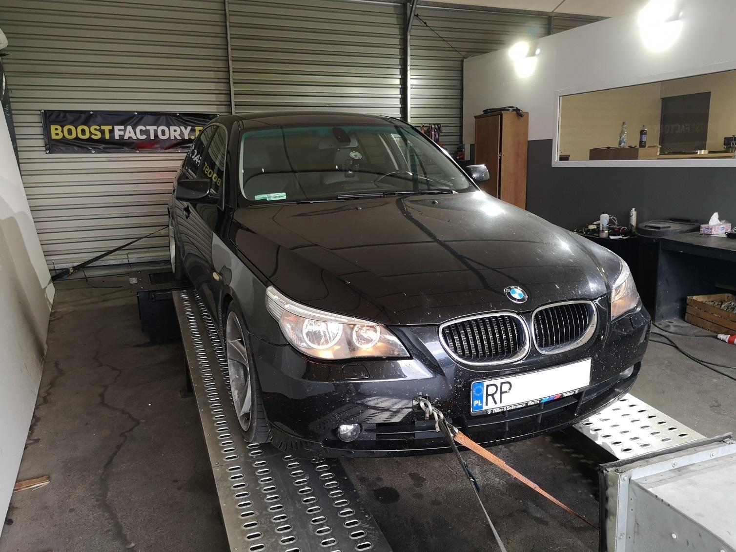 BMW E60 520d 163KM >> 204KM 417Nm