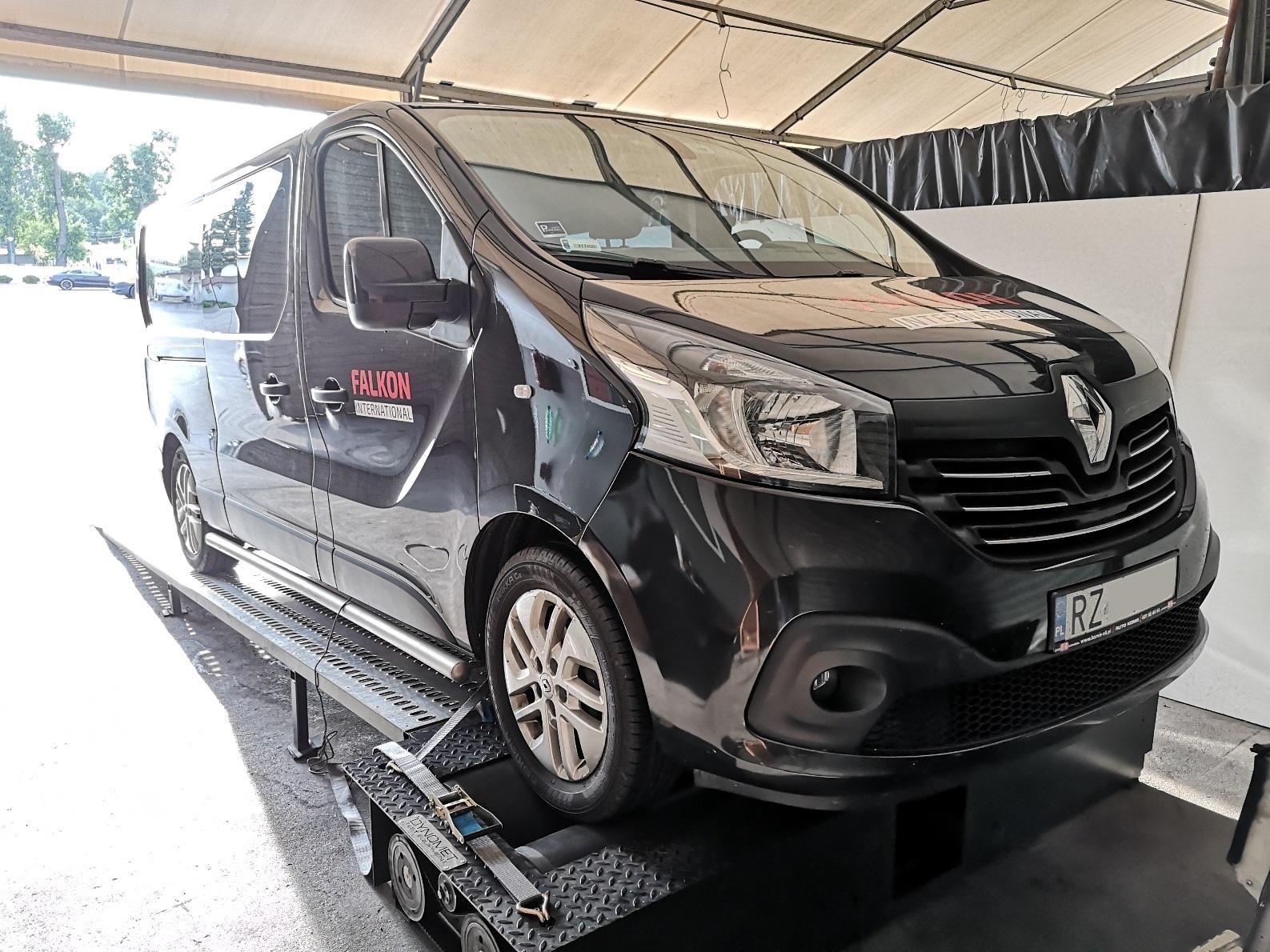 Renault Trafic III 1.6dCi 120KM >> 165KM 374Nm
