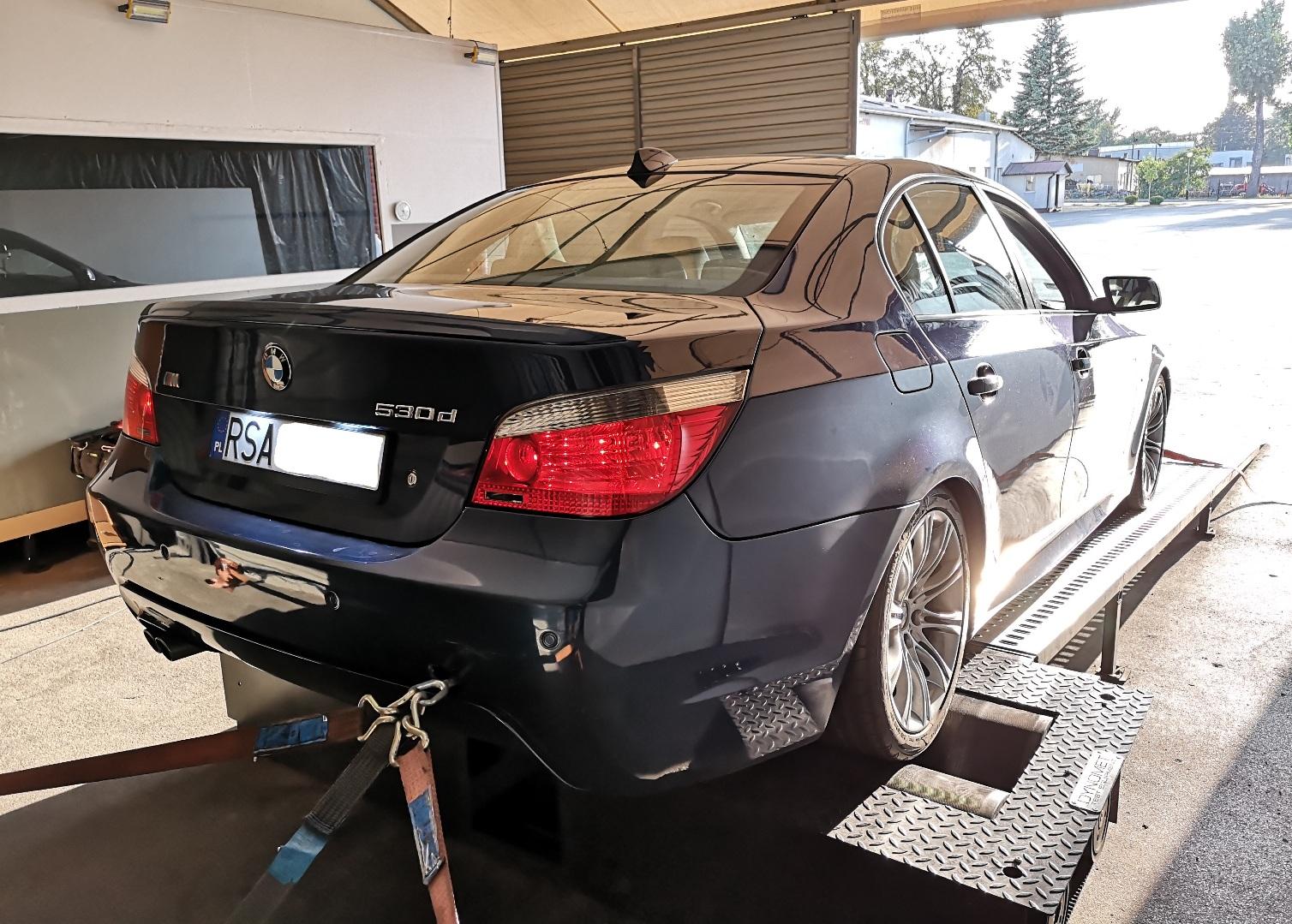 BMW E60 530D 231KM >> 284KM 636Nm