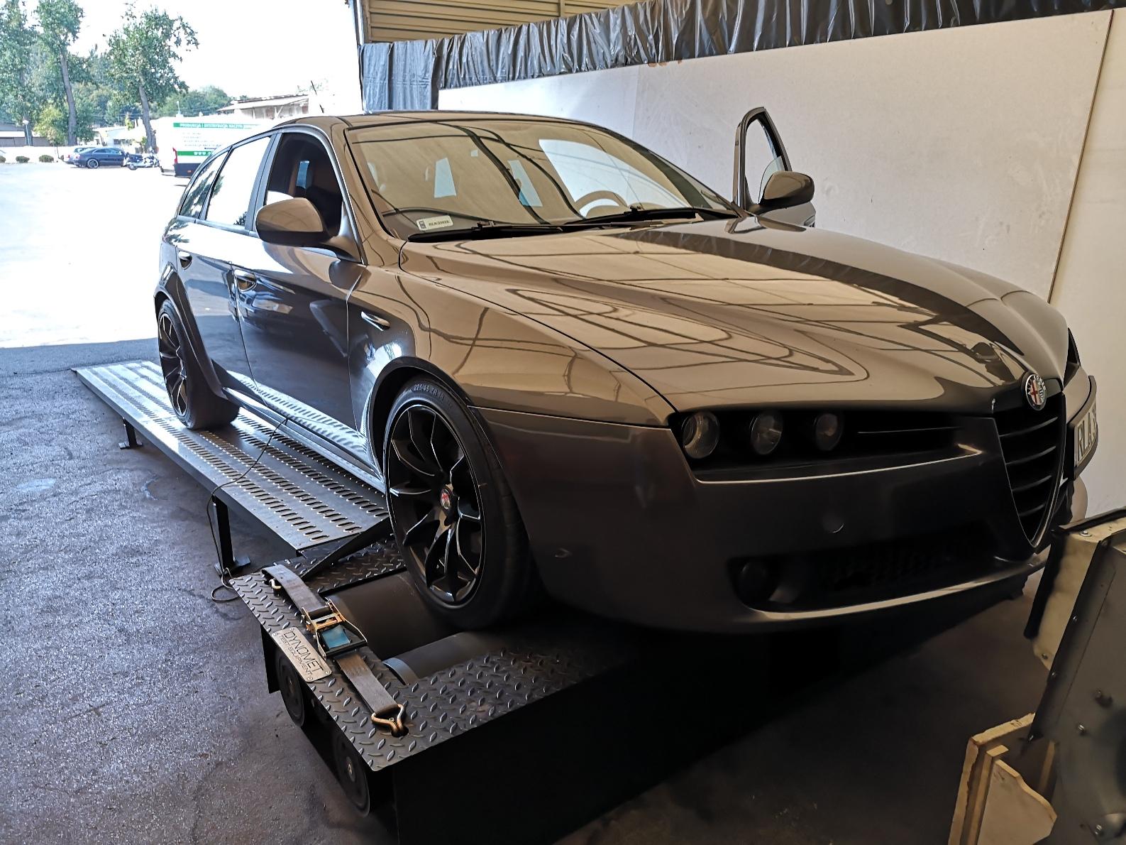 Alfa Romeo 159 1.9JTDm 150KM >> 186.9KM 394.2Nm
