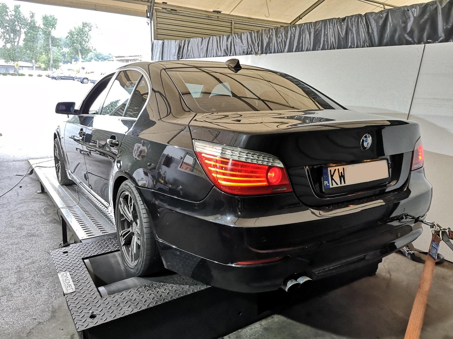 BMW E60 525d 197KM >> 252KM 525Nm