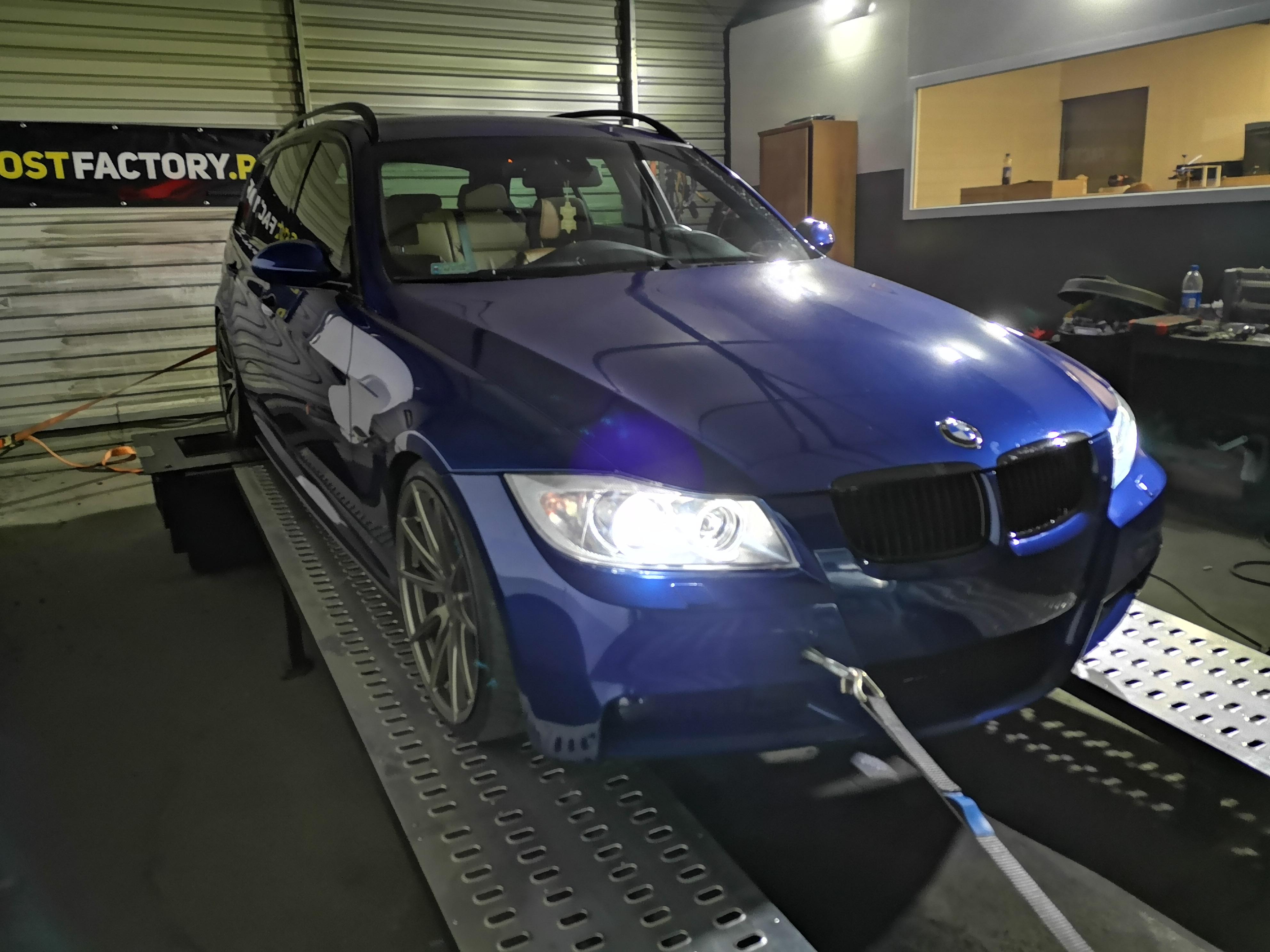 BMW E90 320D 163KM >> 210KM 427Nm