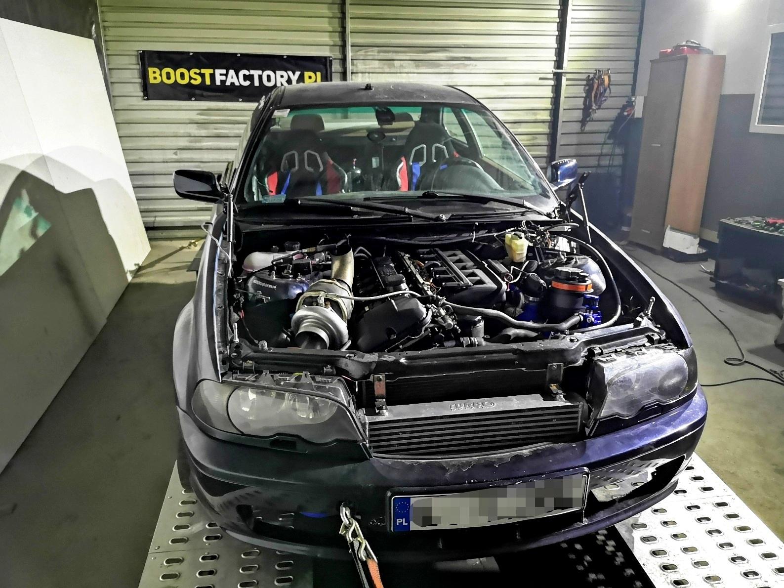 BMW E46 330Ci M54B30 + GT35 >> 522KM 645Nm