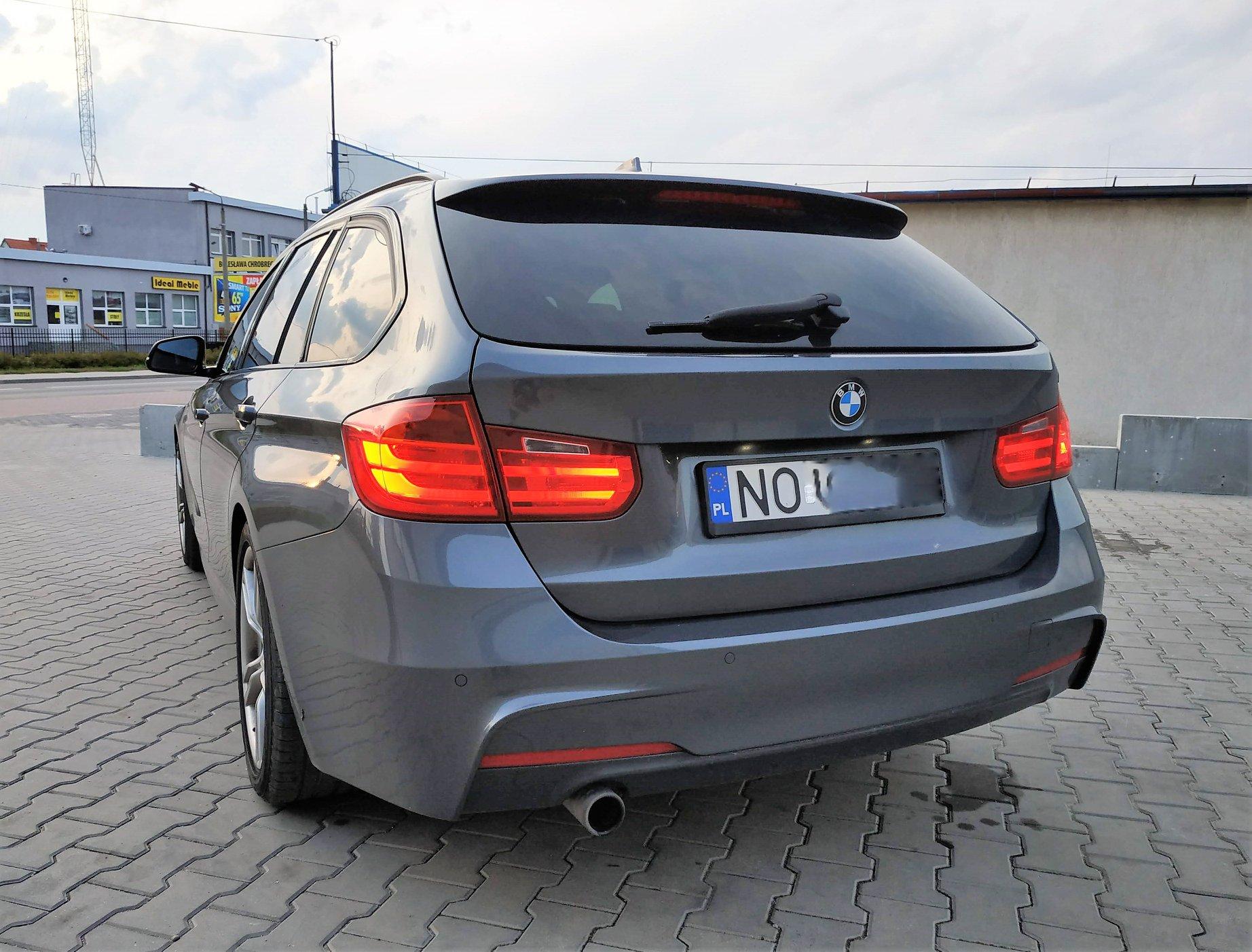 BMW F31 320D 184KM >> 219KM 466Nm