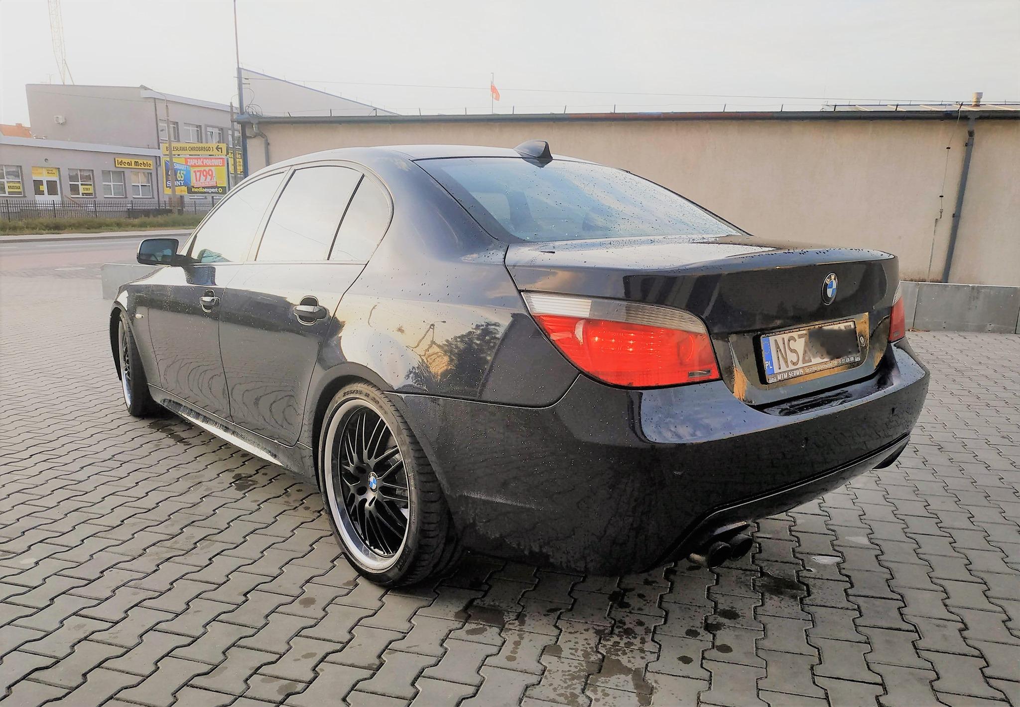 BMW E60 535D 272KM >> 359KM 714Nm