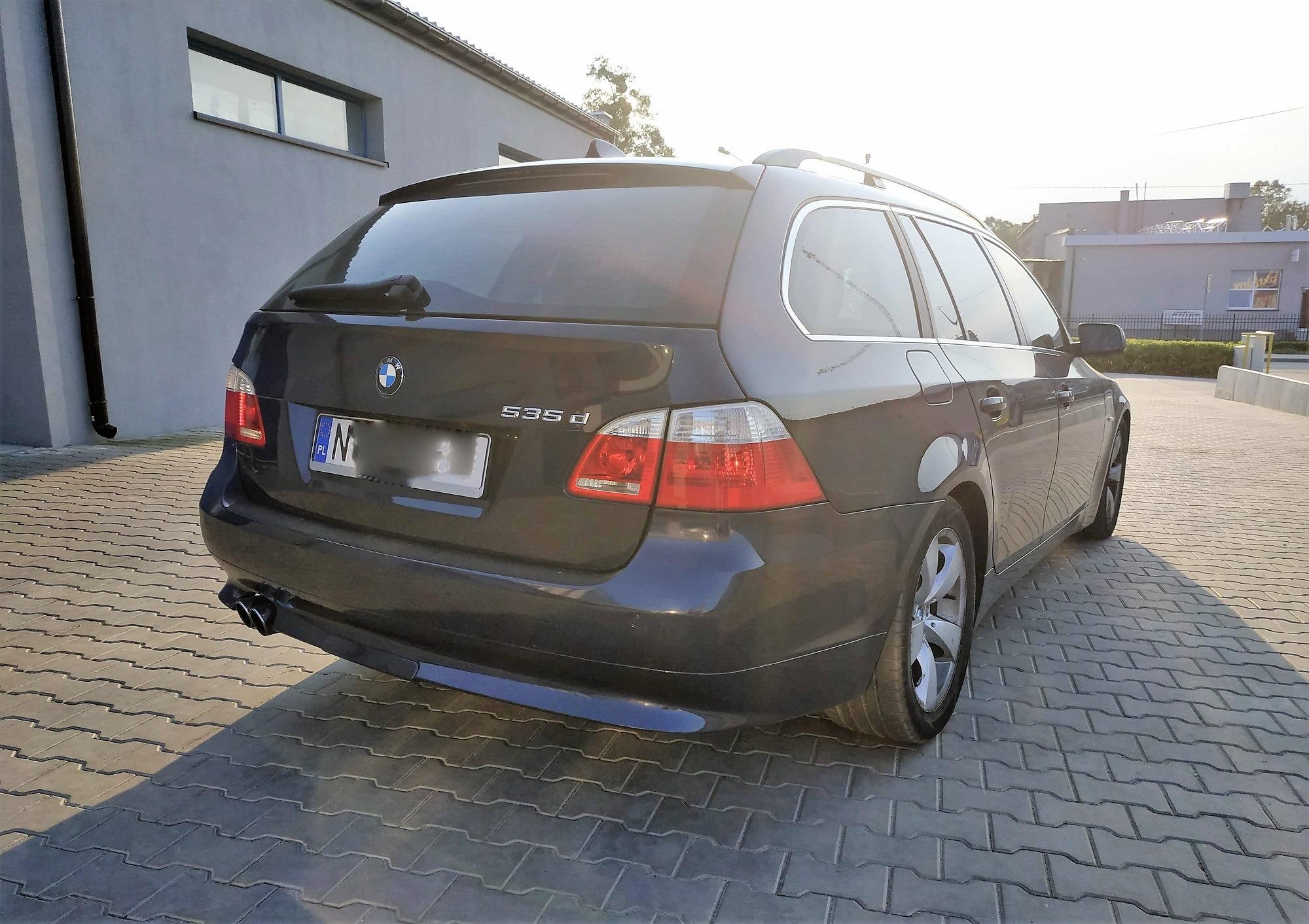 BMW E61 535D 272 KM>> 336KM 670Nm