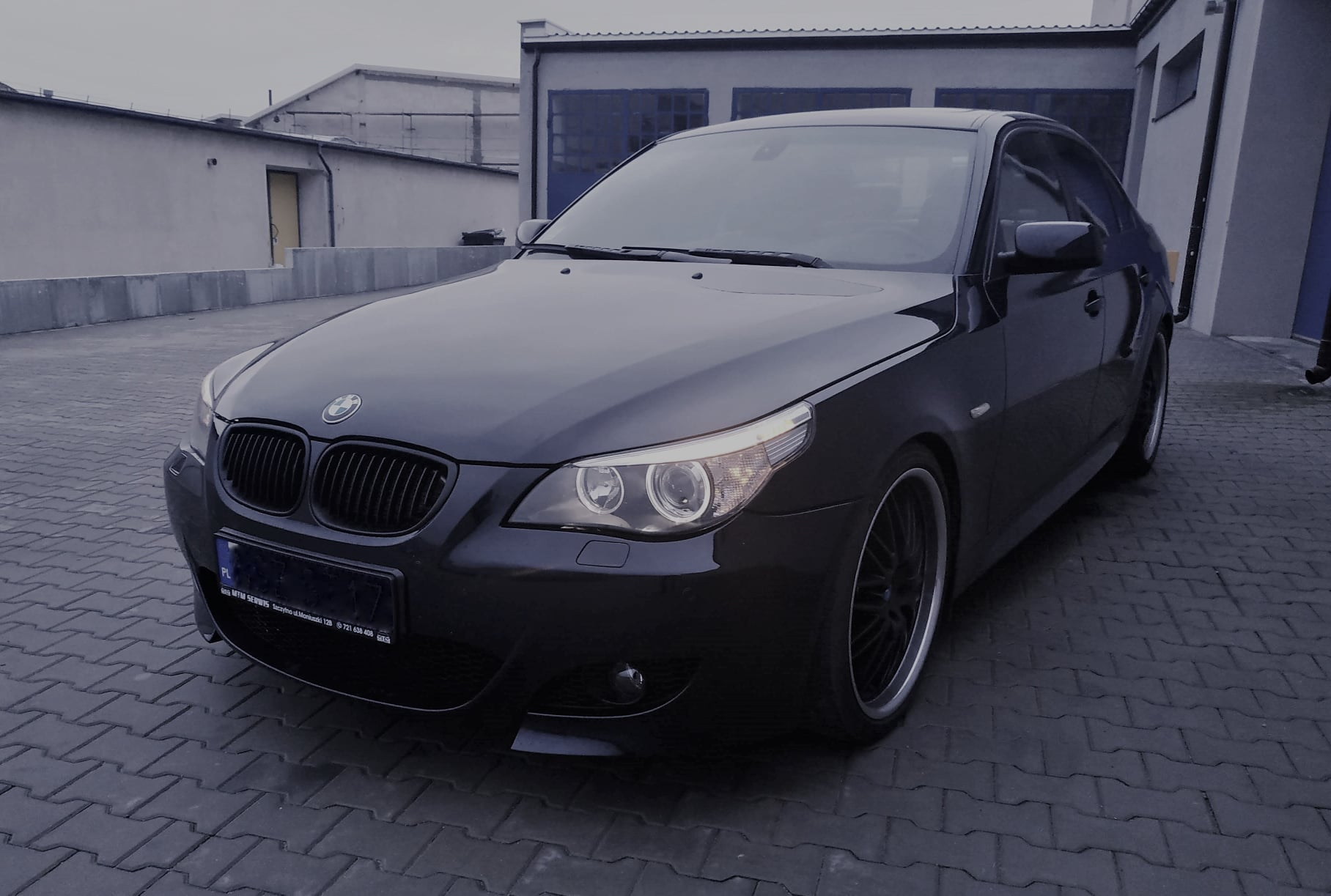 BMW E60 535D 272KM >> 372KM 720Nm
