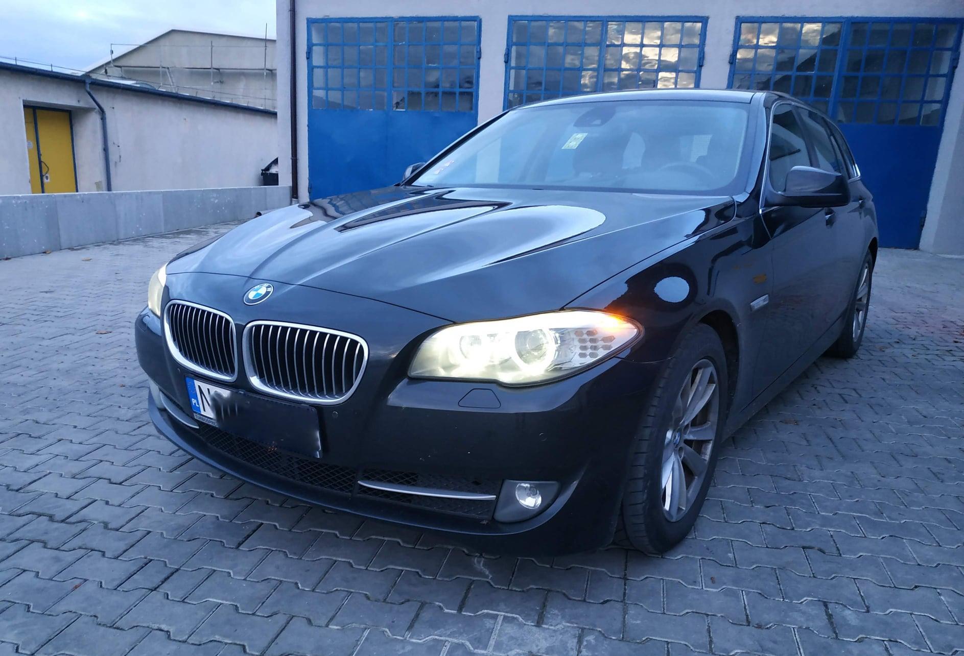 BMW F11 520D 184KM >> 224KM 440Nm