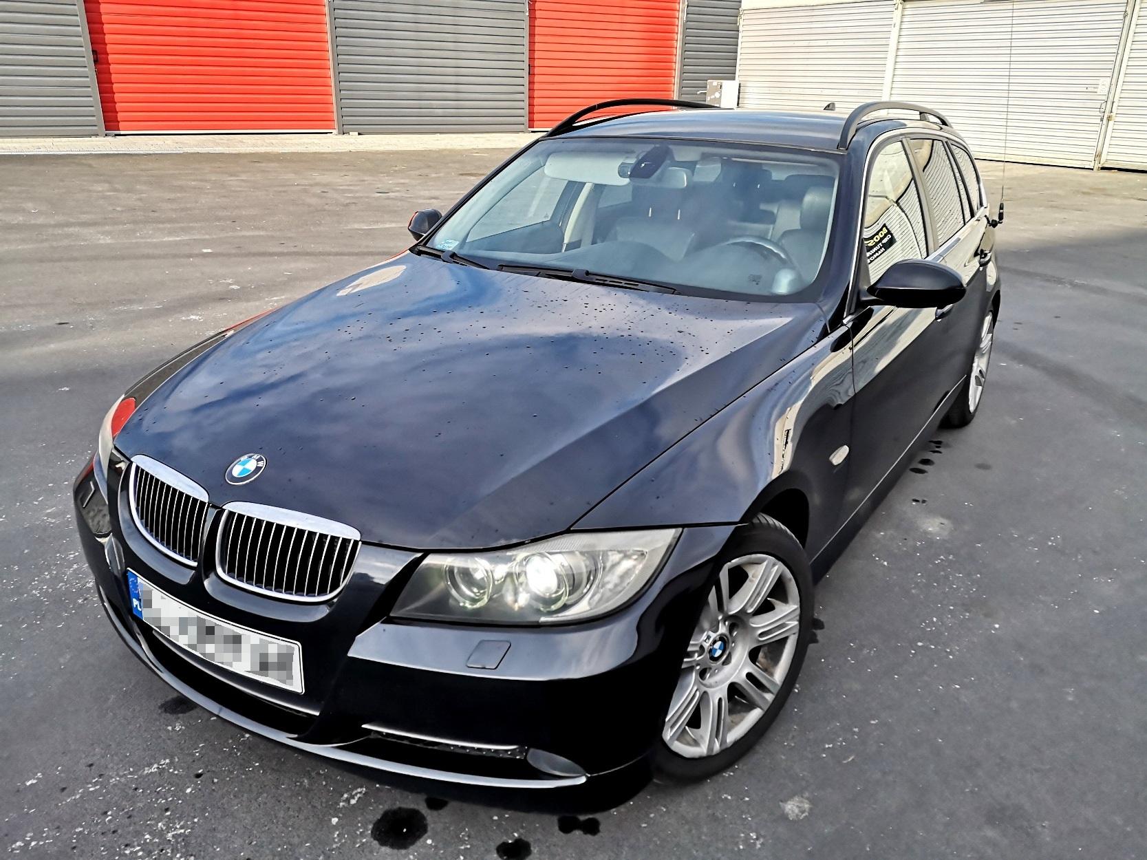 BMW E91 M57N2 231KM >> 393KM 862Nm