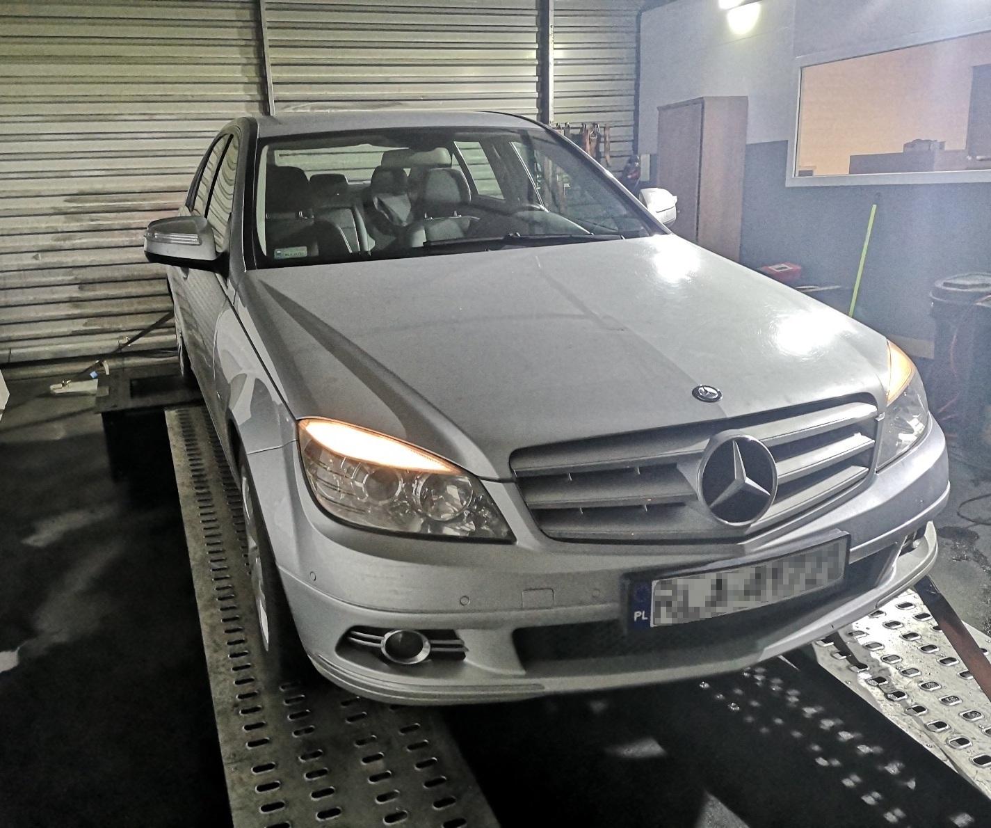 Mercedes W204 C200 CDI 136KM 270NM >> 195KM 409Nm