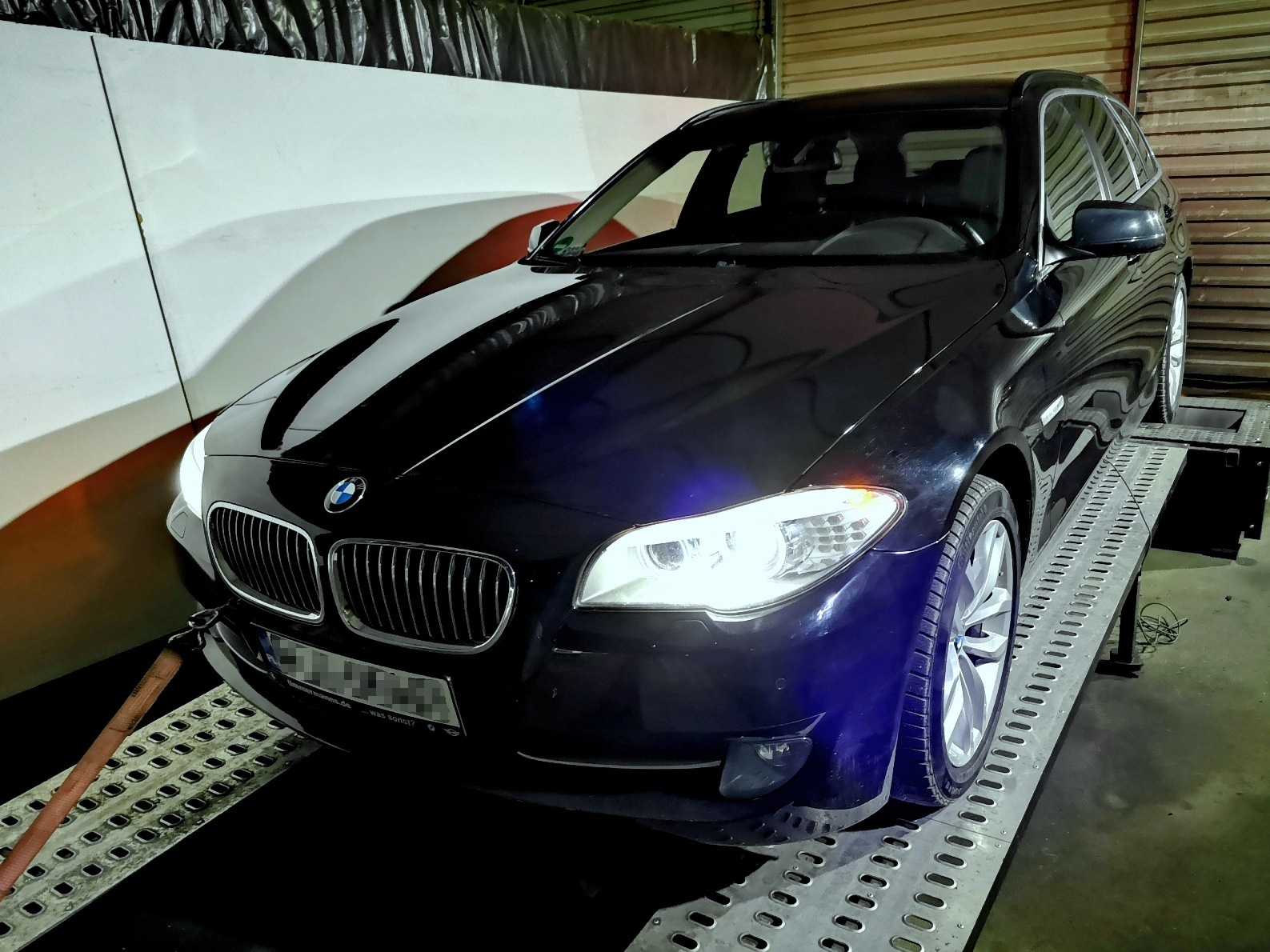 BMW F11 520D 184KM >> 222.3KM 465.3Nm