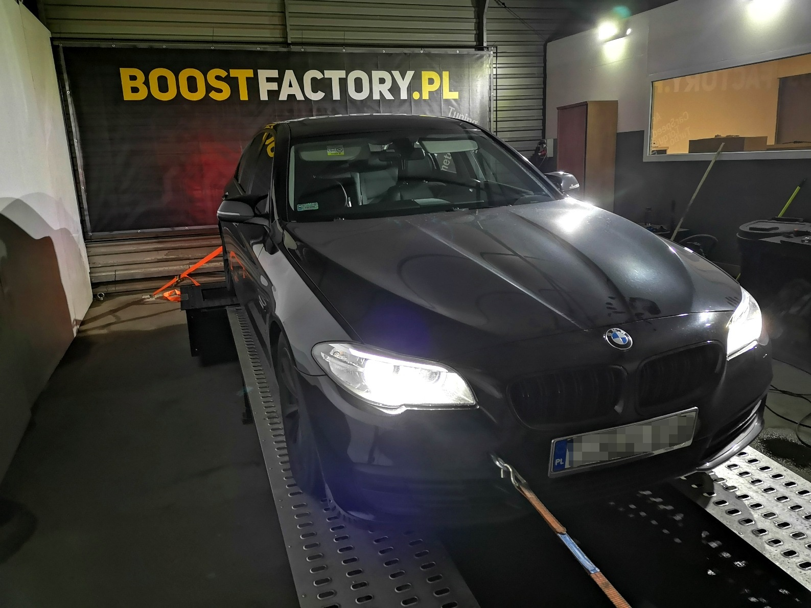 BMW F10 520D 184KM >> 225KM 455Nm