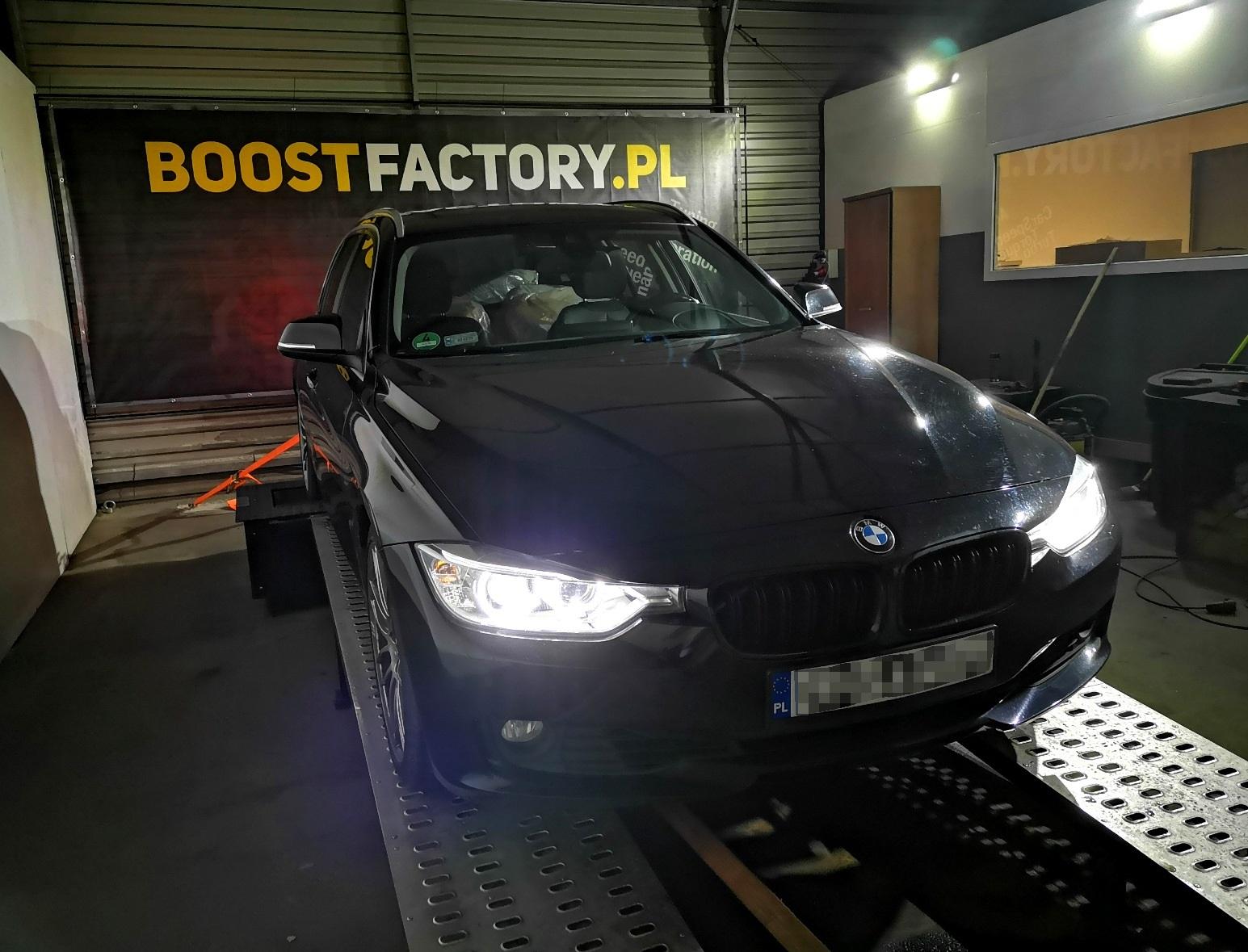 BMW F31 330D 258KM >> 335KM 690Nm