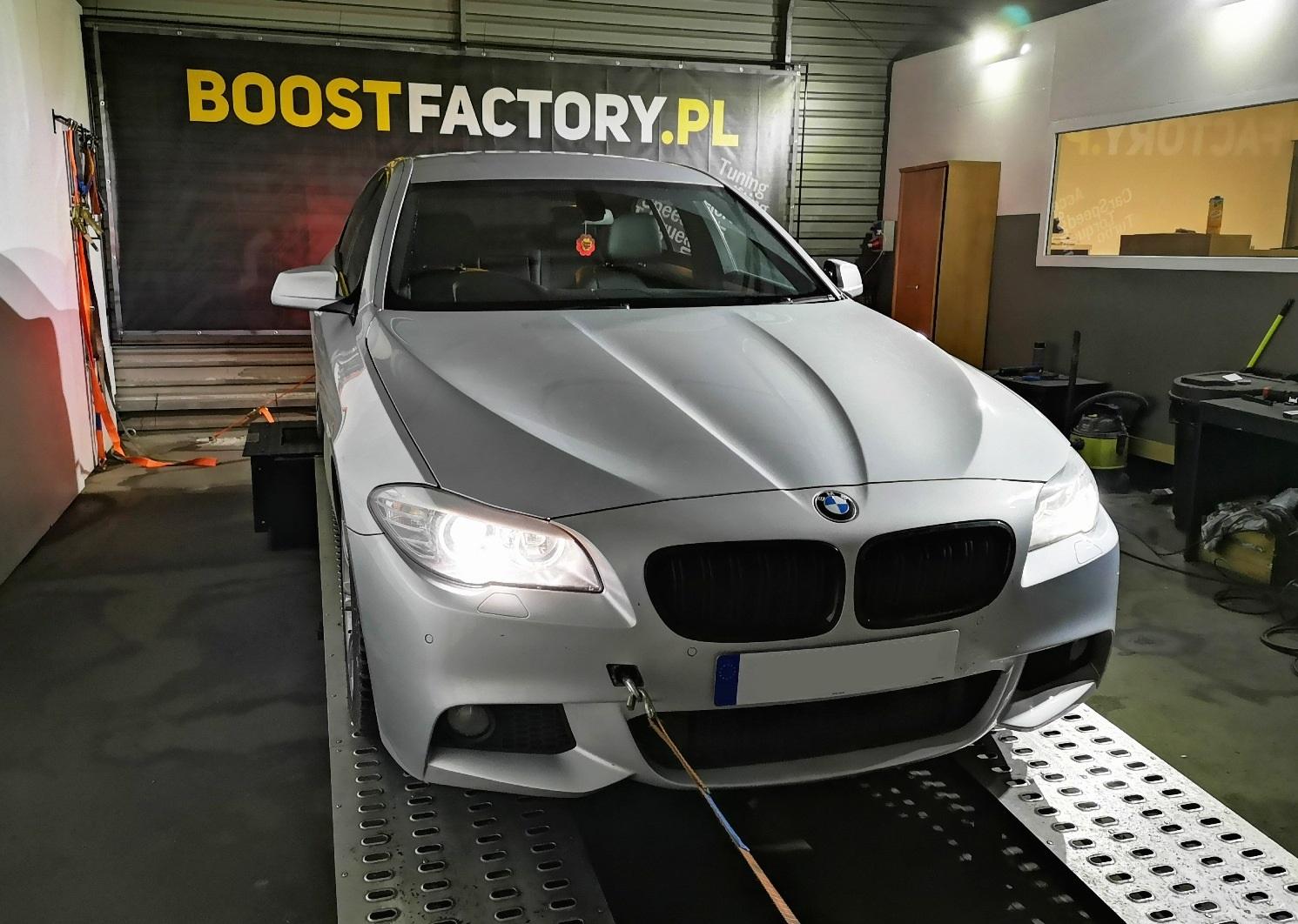 BMW F10 520D 184KM >> 215KM 444Nm