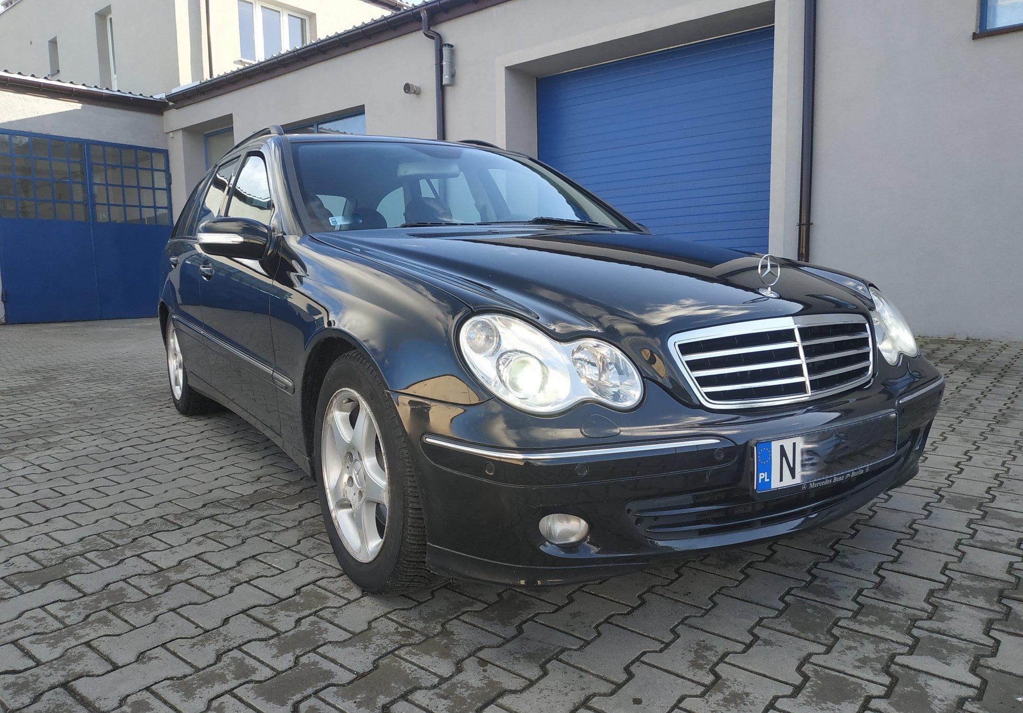Mercedes W203 C270CDI 161KM >> 202KM 524Nm