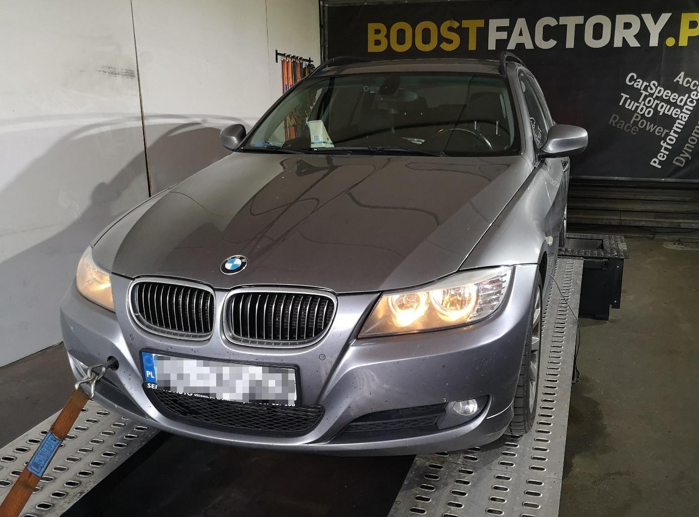 BMW E91 325D 197KM >> 258KM 534Nm