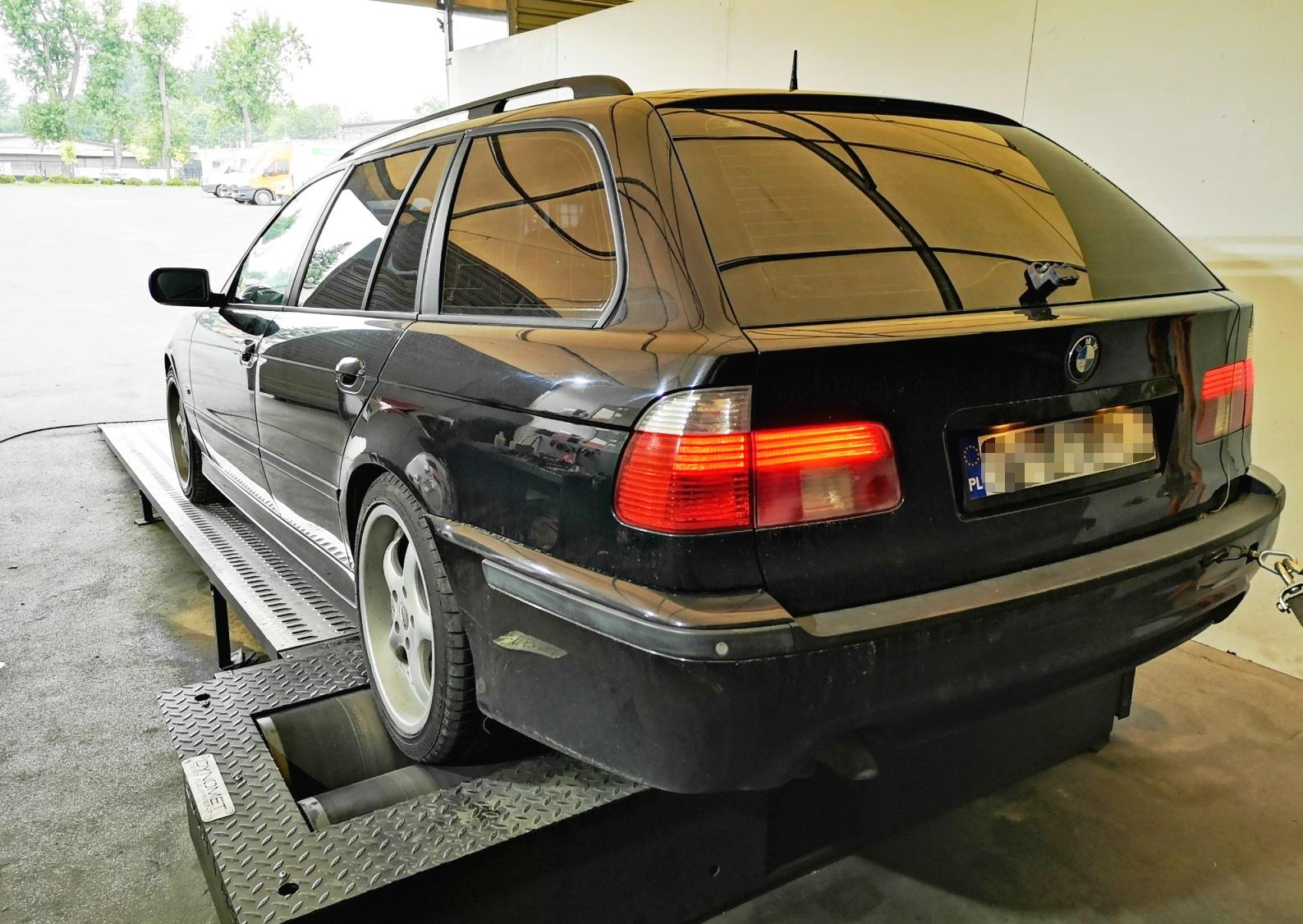 BMW E39 530d 193KM >> 240KM 522Nm