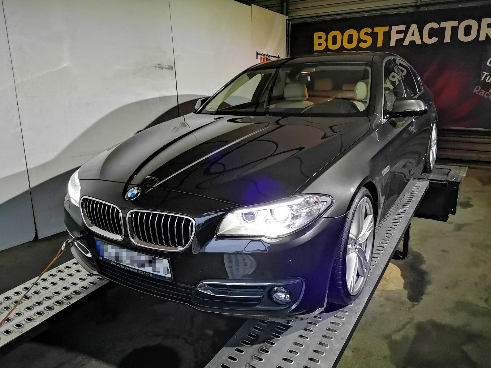 BMW F10 518D 143KM >> 213KM 422Nm