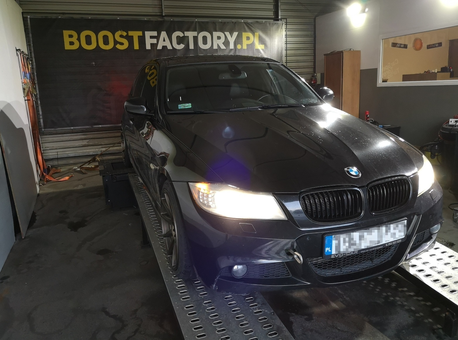BMW E90 320D 184KM >> 223KM 489Nm