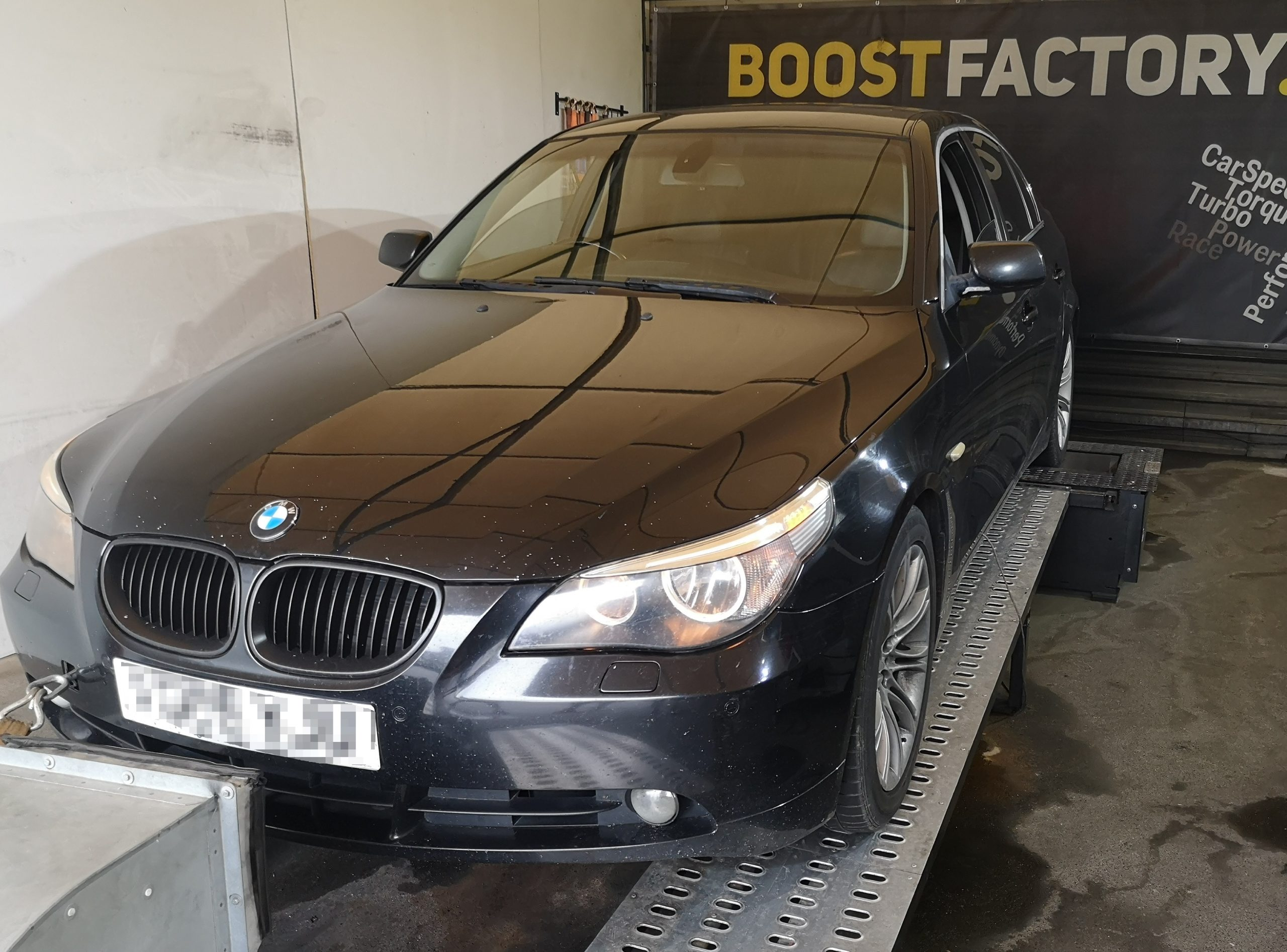 BMW E60 530D 218KM >> 287KM 631Nm