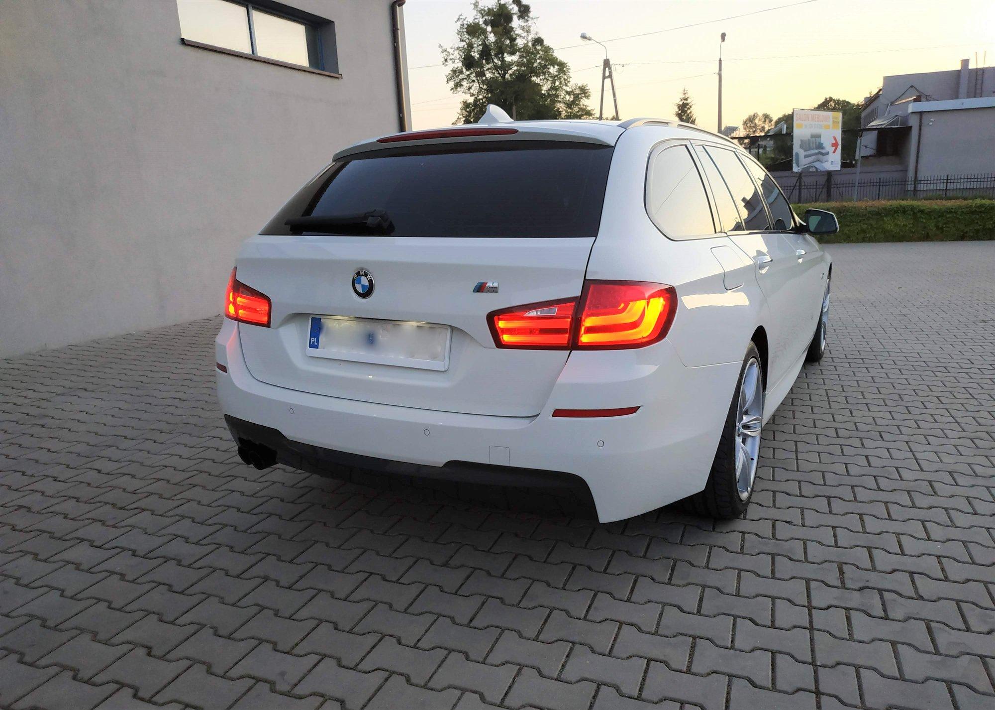 BMW F11 525D 3.0D N57 204KM >> 296KM 589Nm