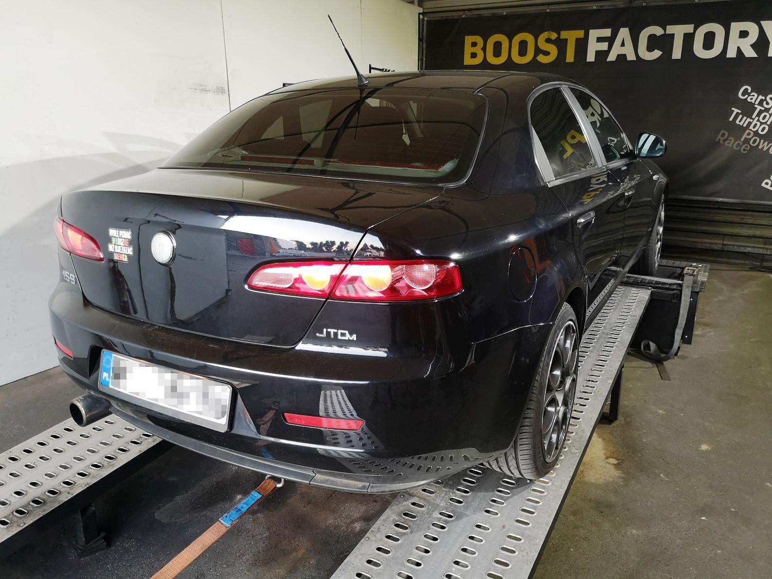 Alfa Romeo 159 1.9JTDm 150KM >> 186KM 407Nm