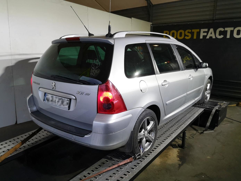 Peugeot 307 2.0HDI 109KM >> 130KM 299Nm