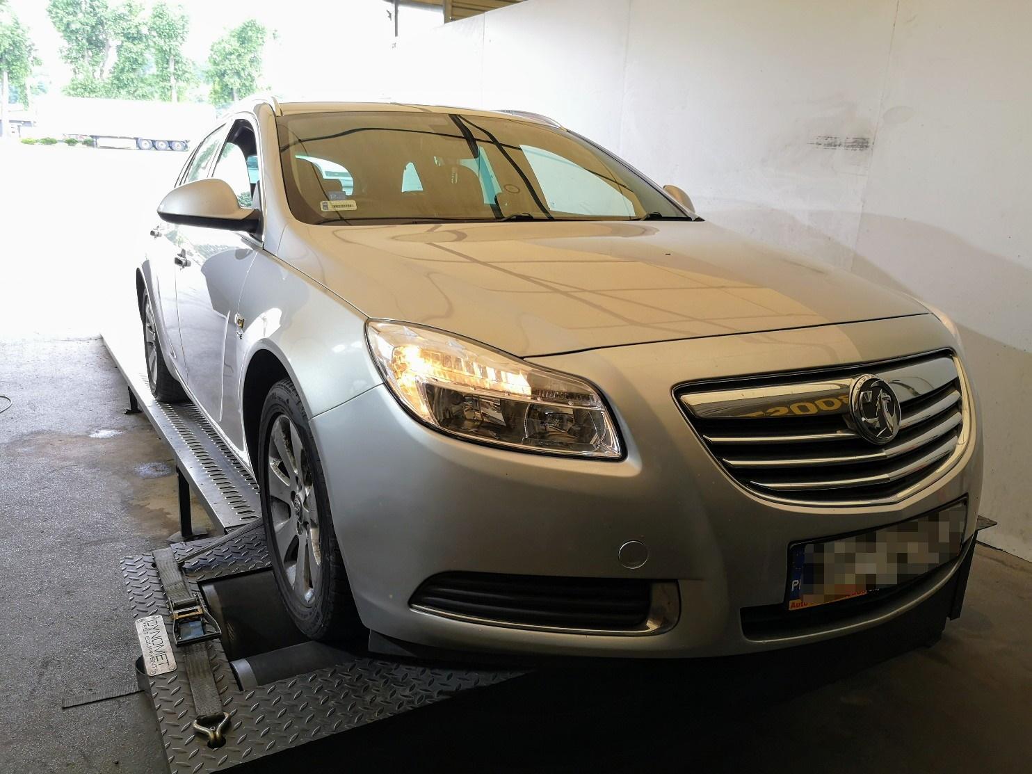 Opel Insignia 2.0 CDTi 160KM >> 197KM 419Nm