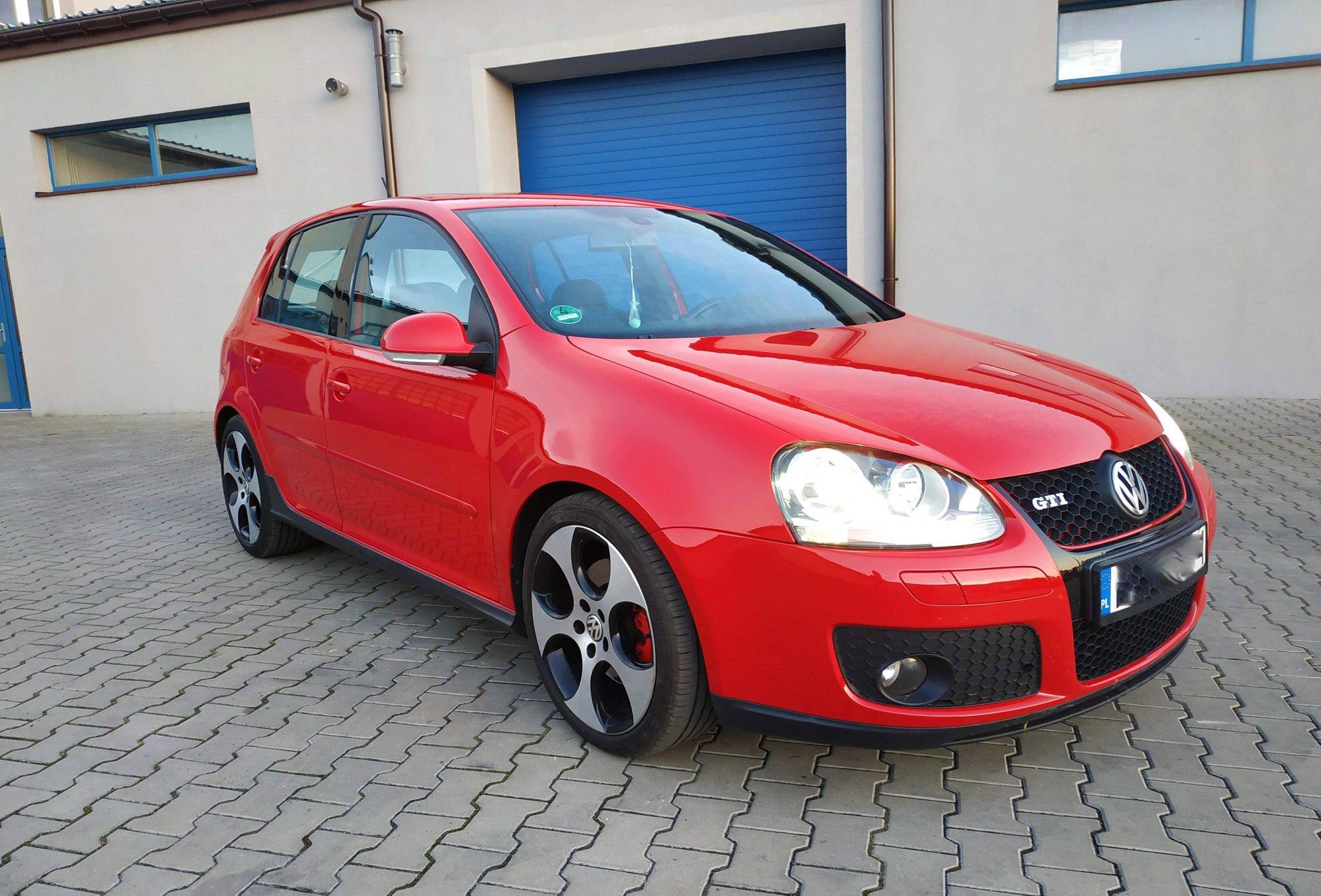 VW Golf 5 GTI 2.0TFSI 200KM >> 258KM 401Nm